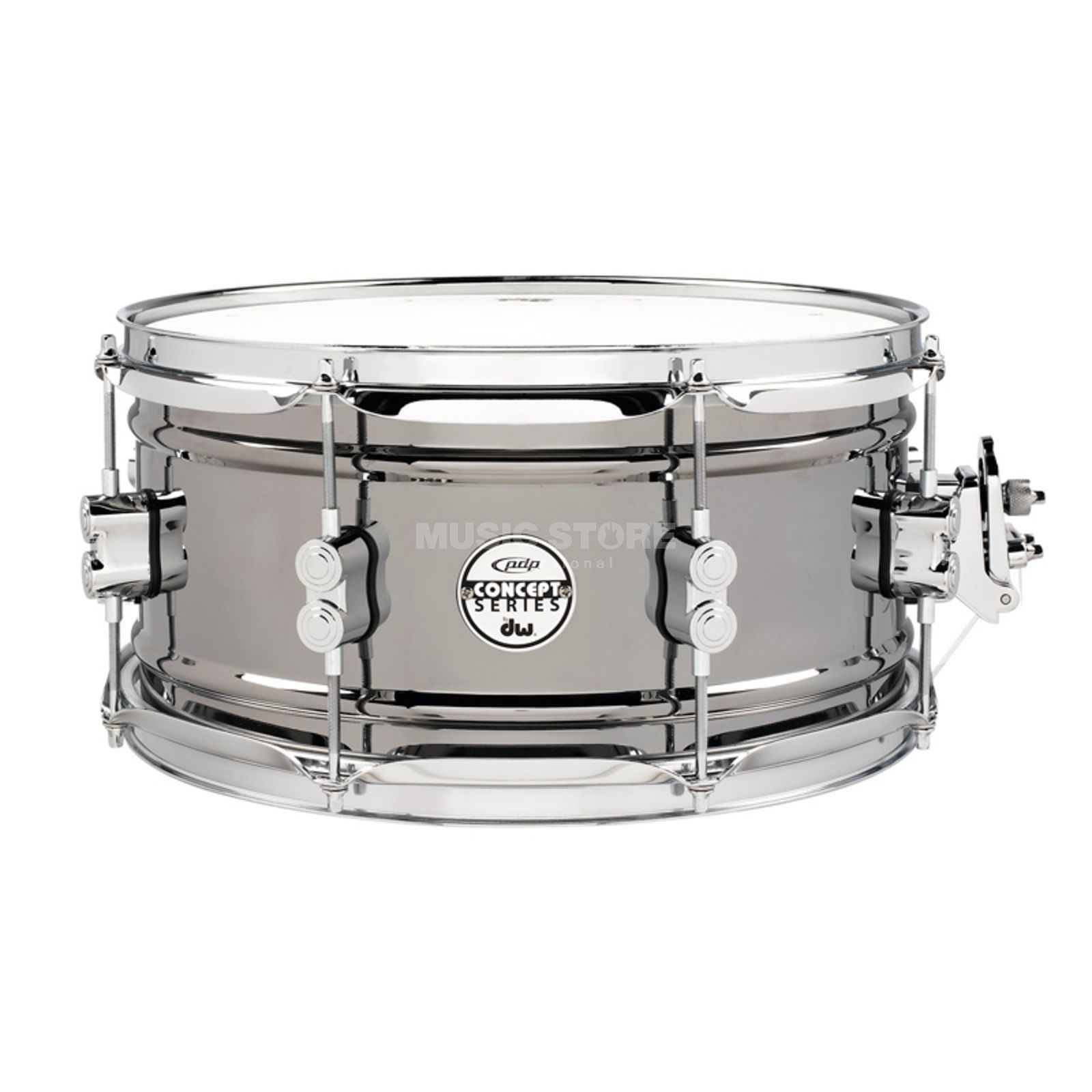 "Drum Workshop PDP Black Nickel Steel Snare 13""x6,5"" Produktbild"