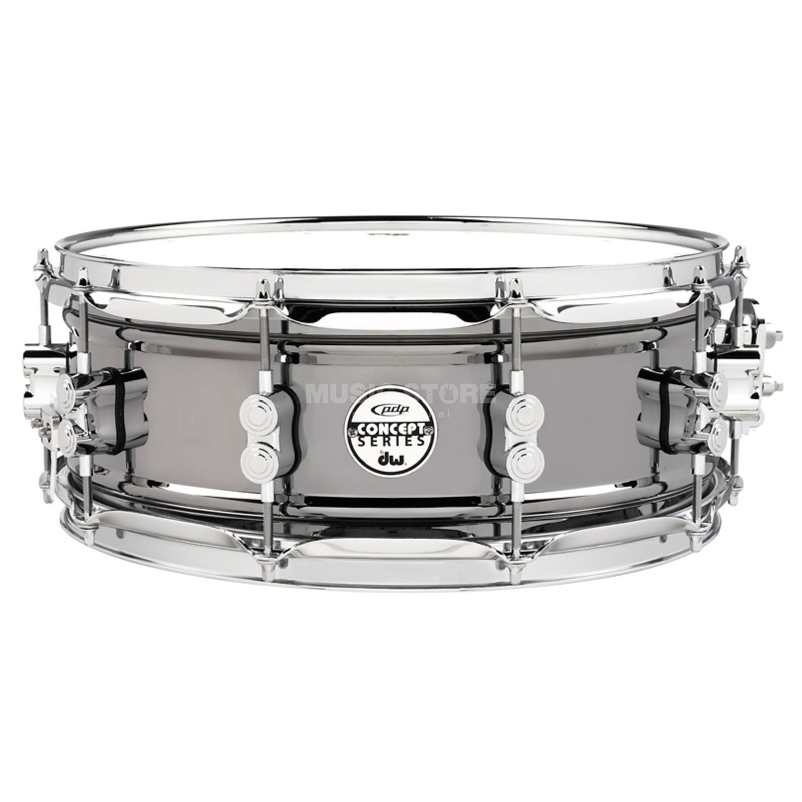 "Drum Workshop PDP Black Nickel Steel Snare 14""x5,5"" Produktbillede"