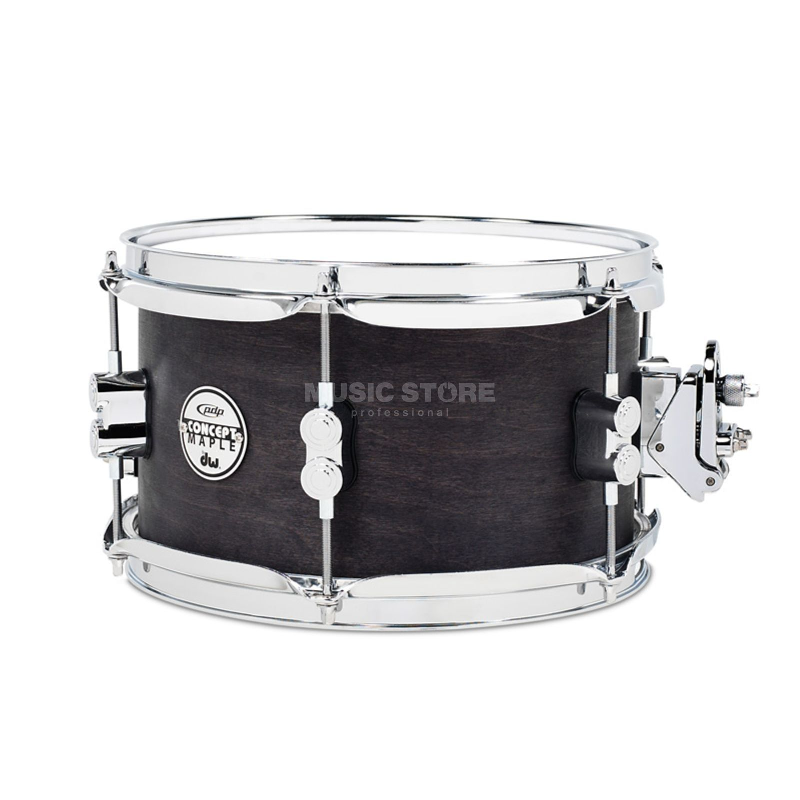 "Drum Workshop PDP Black Wax Snare 12""x6"" Produktbild"