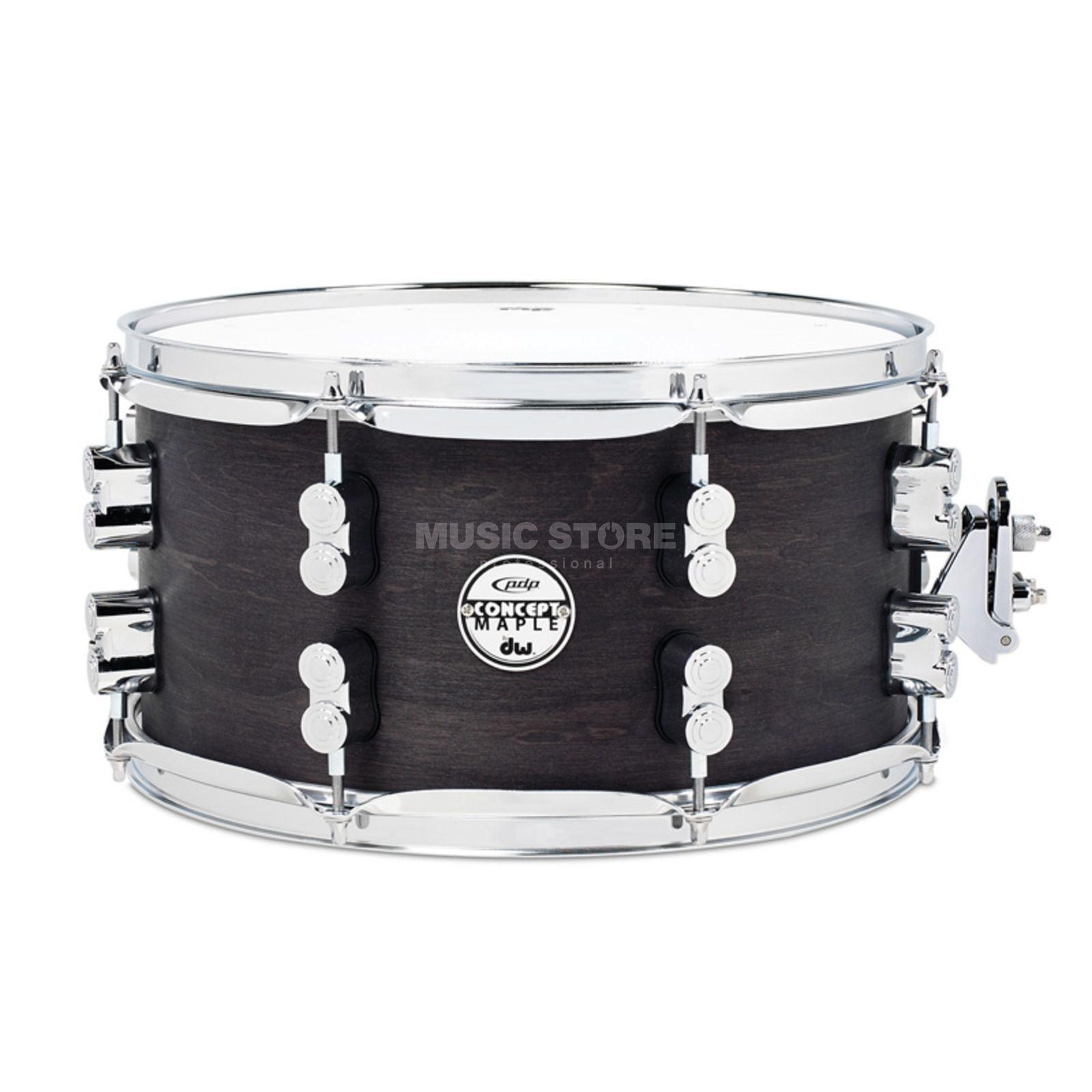 "Drum Workshop PDP Black Wax Snare 13""x7"" Produktbillede"