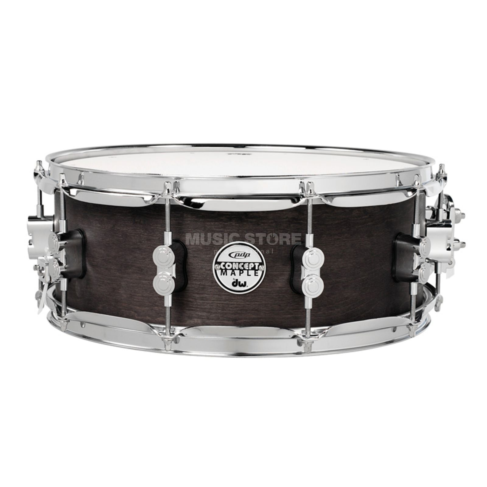 "Drum Workshop PDP Black Wax Snare 14""x5,5"" Produktbillede"