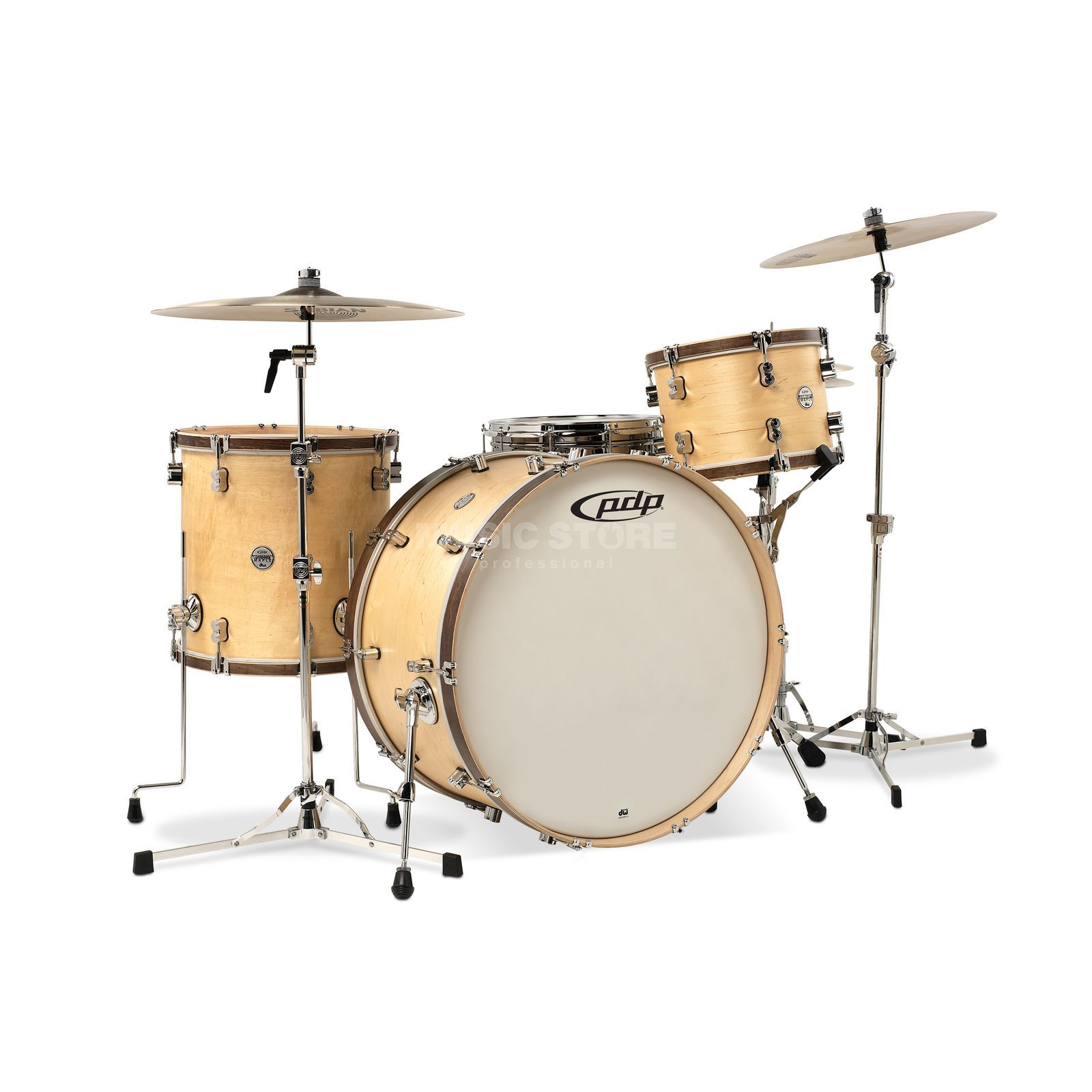 Drum Workshop PDP Concept Classic 22, Natural Produktbillede