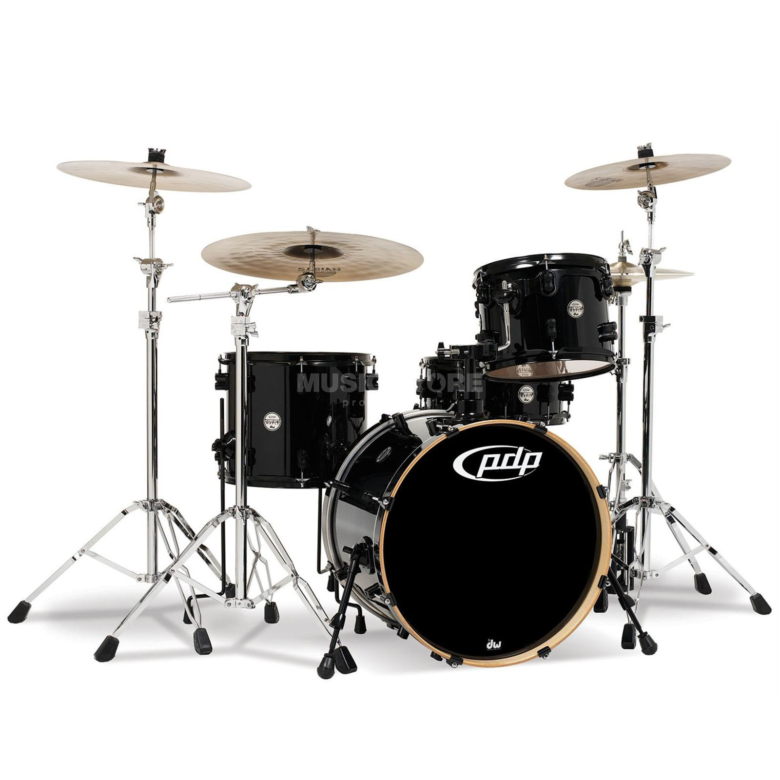 Drum Workshop PDP Concept Maple CM6, Pearlescent Black, B-Stock Produktbillede