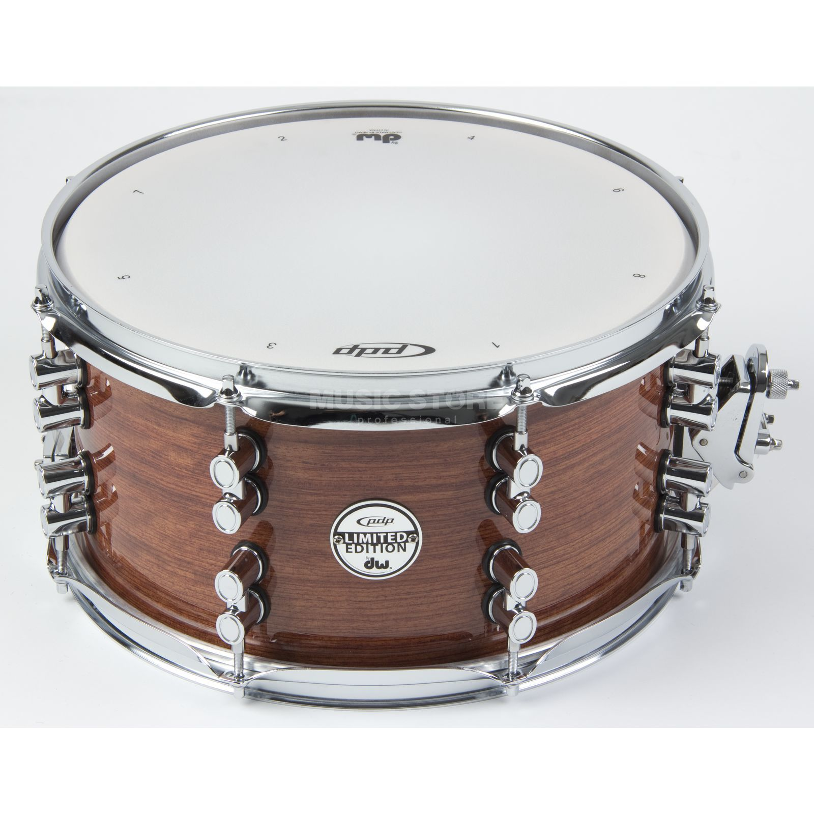 "Drum Workshop PDP Satin Oil Snare 14""x8"", Bubinga/Maple/Bubinga Produktbillede"