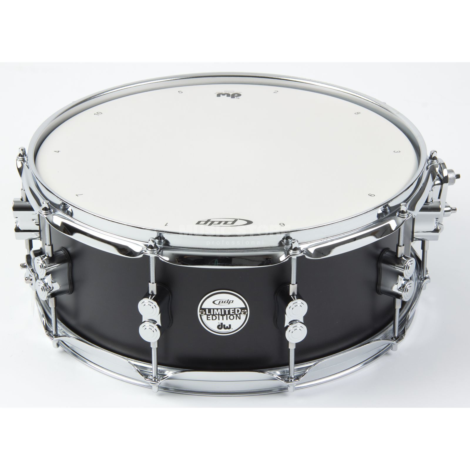 "Drum Workshop PDP Snare Limited Edition, 14""x5,5"", Black Matte Produktbild"