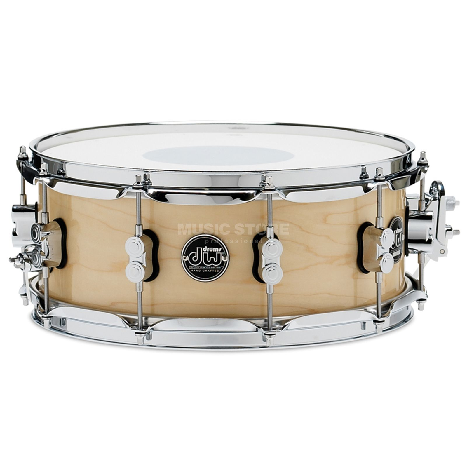 "Drum Workshop Performance Lacquer Snare, 14""x5,5"",  Natur Produktbild"