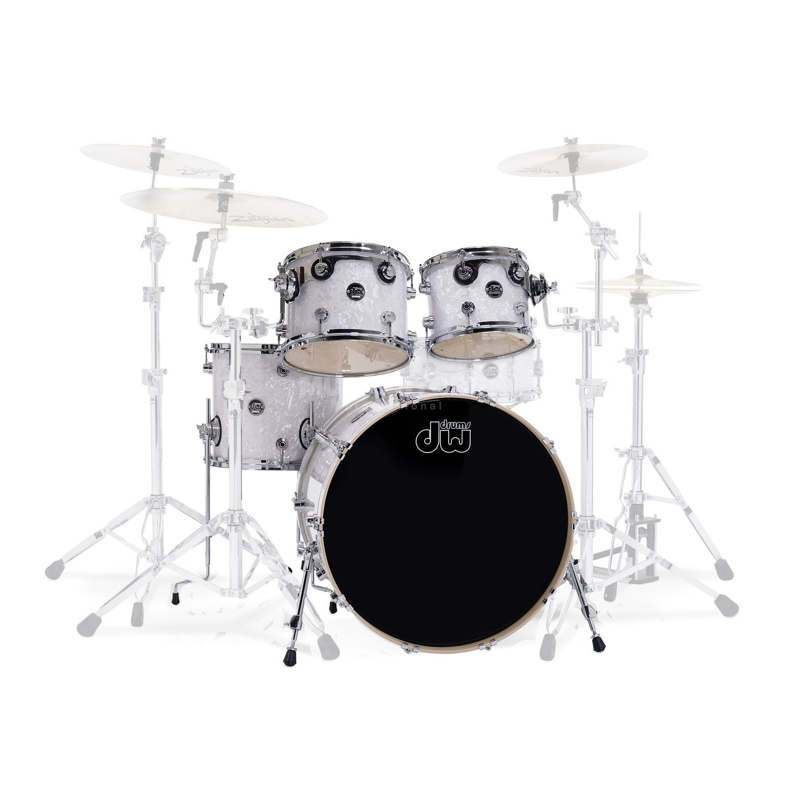 "Drum Workshop Performance ShellSet ""Fusion"", White Marine Pearl Produktbillede"