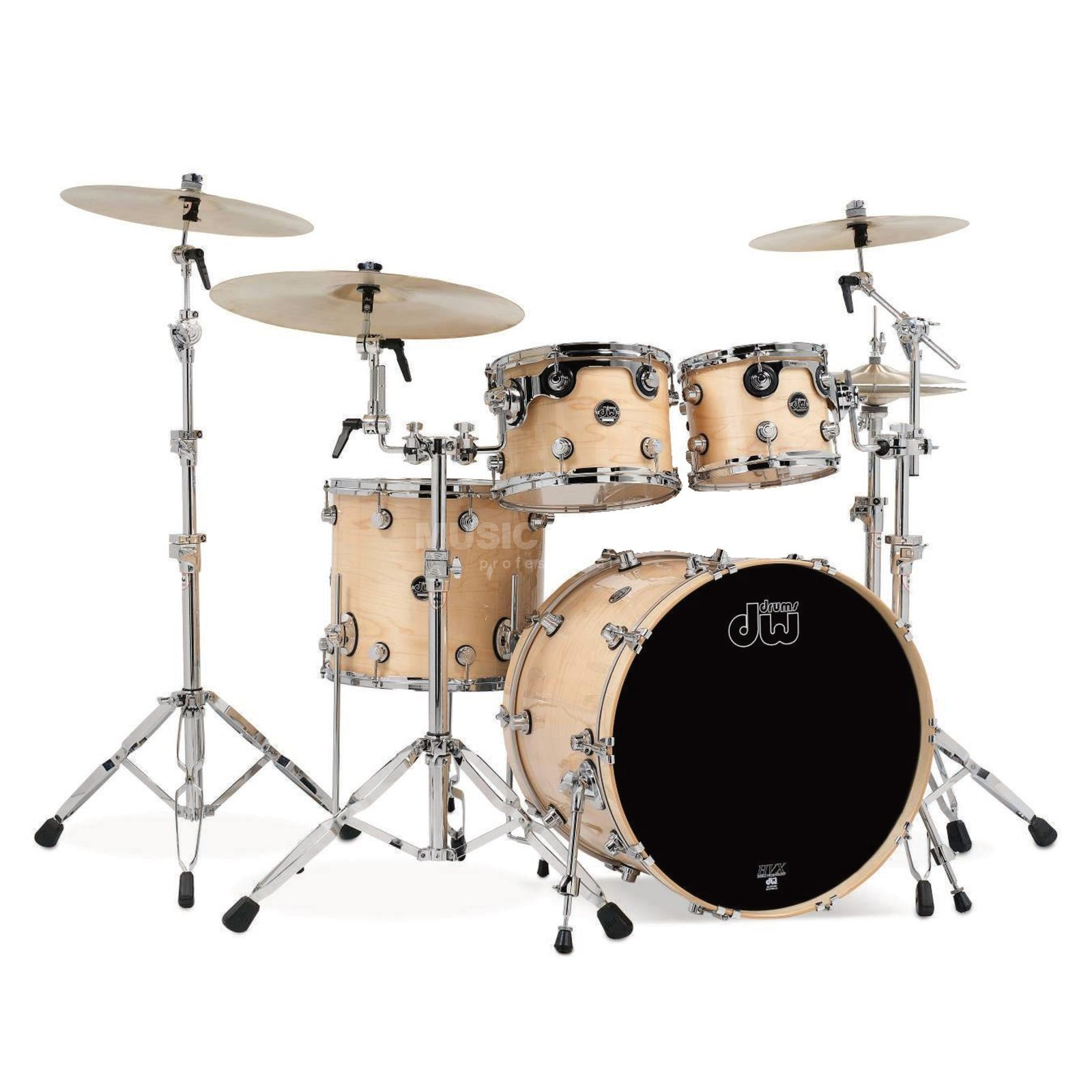 "Drum Workshop Performance ShellSet ""Rock II"" Lacquer, Natural Lacquer Produktbild"