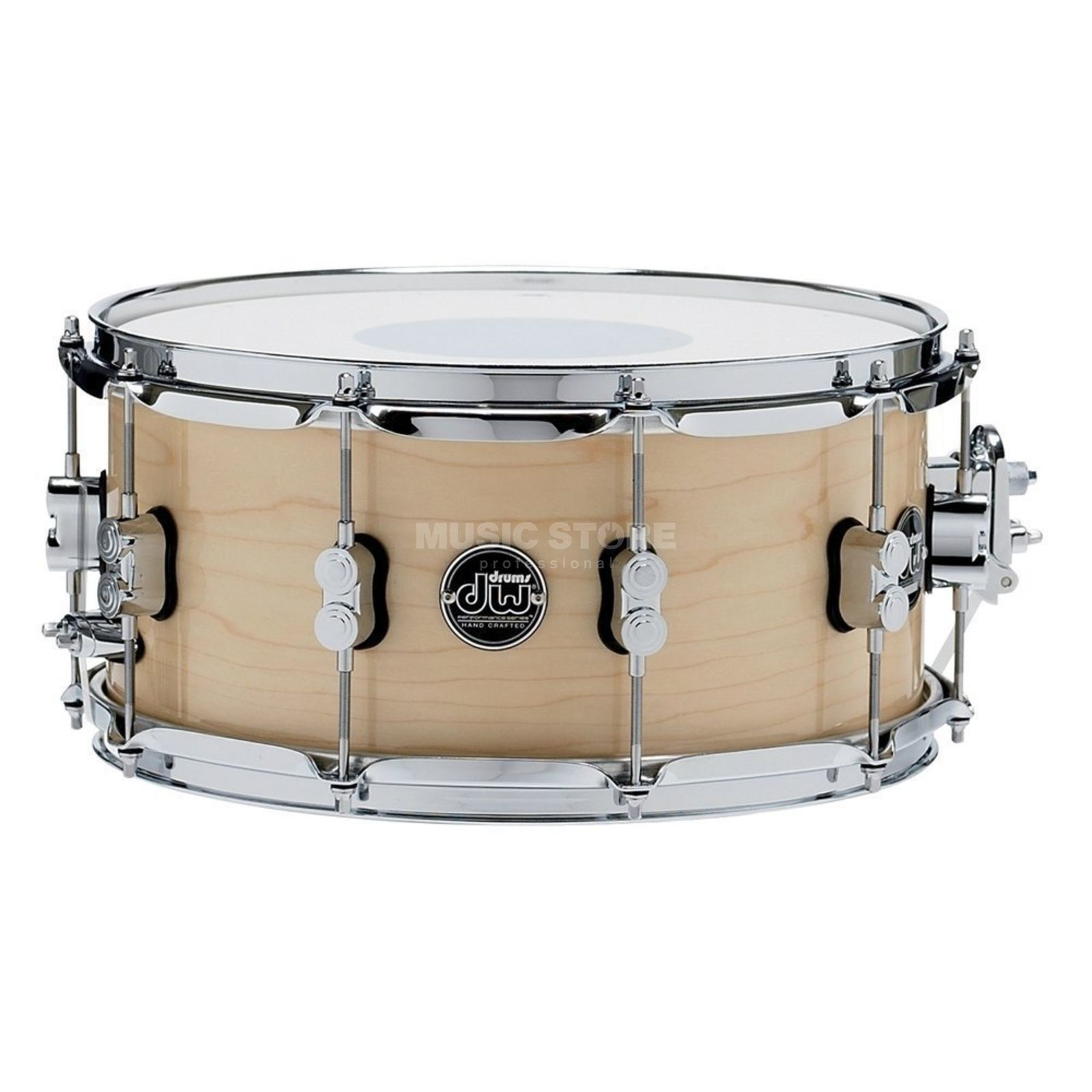 "Drum Workshop Performance Snare 13""x7"", Nature Produktbillede"