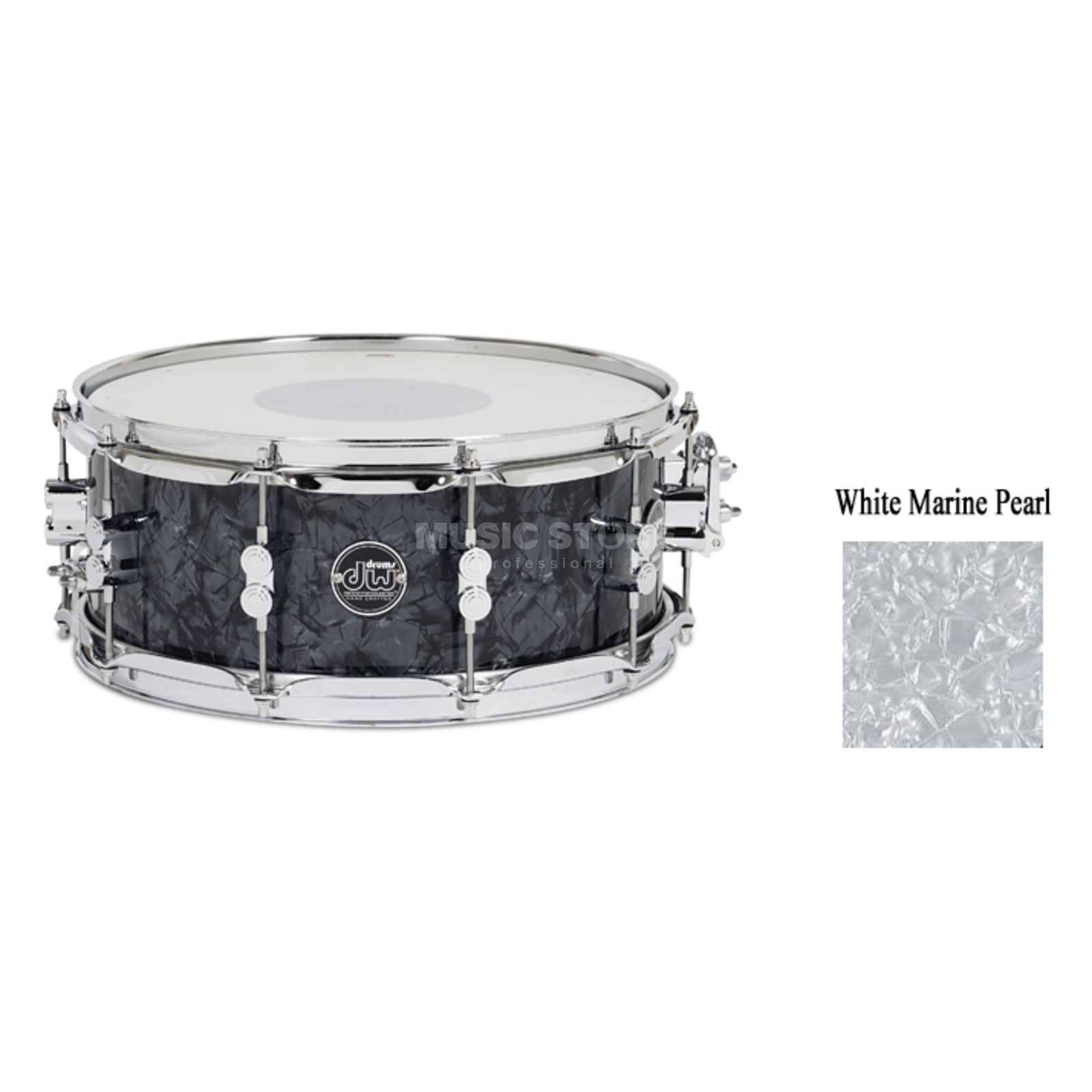 "Drum Workshop Performance Snare 14""x6,5"", White Marine Pearl Produktbillede"