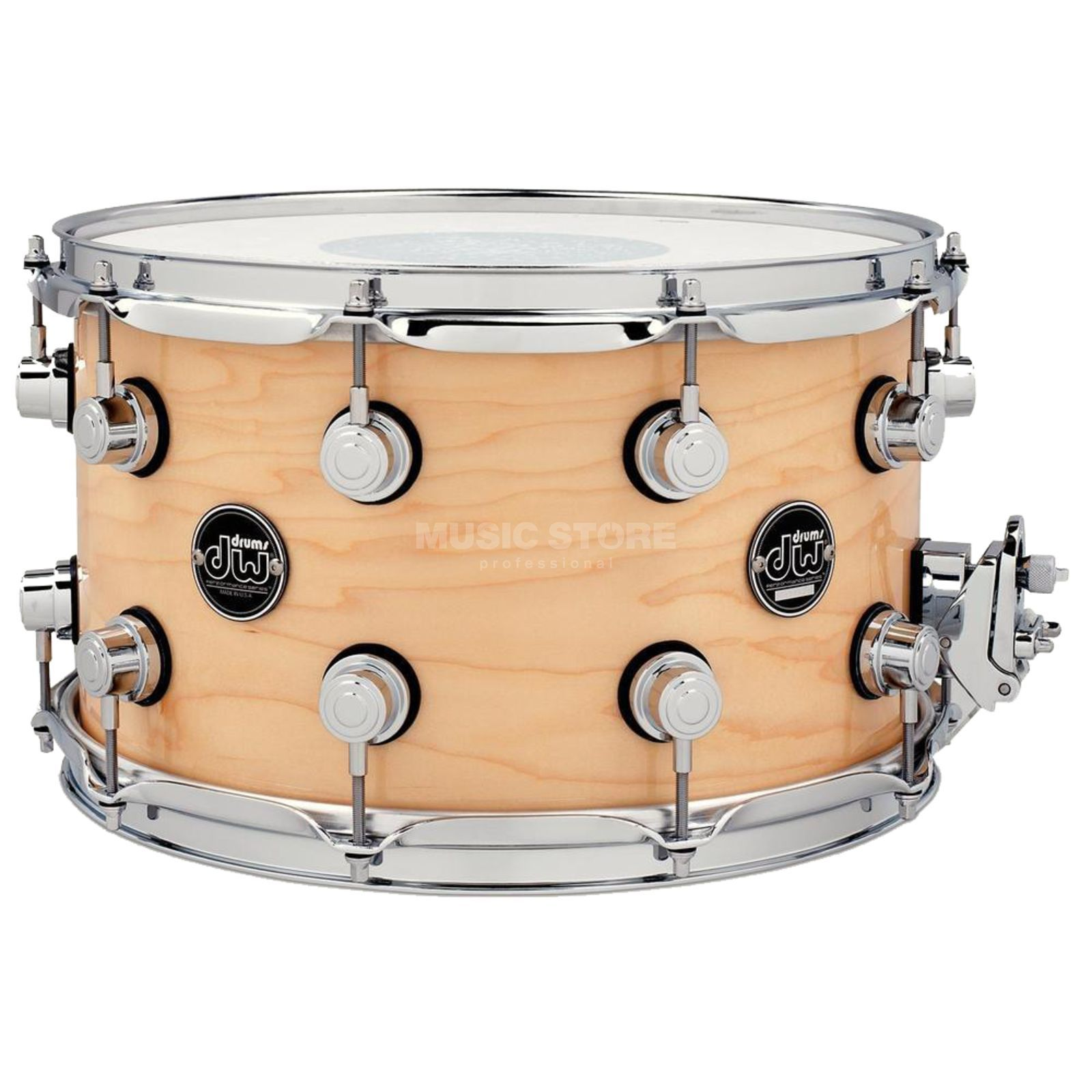 "Drum Workshop Performance Snare 14""x8"", Nature Produktbillede"