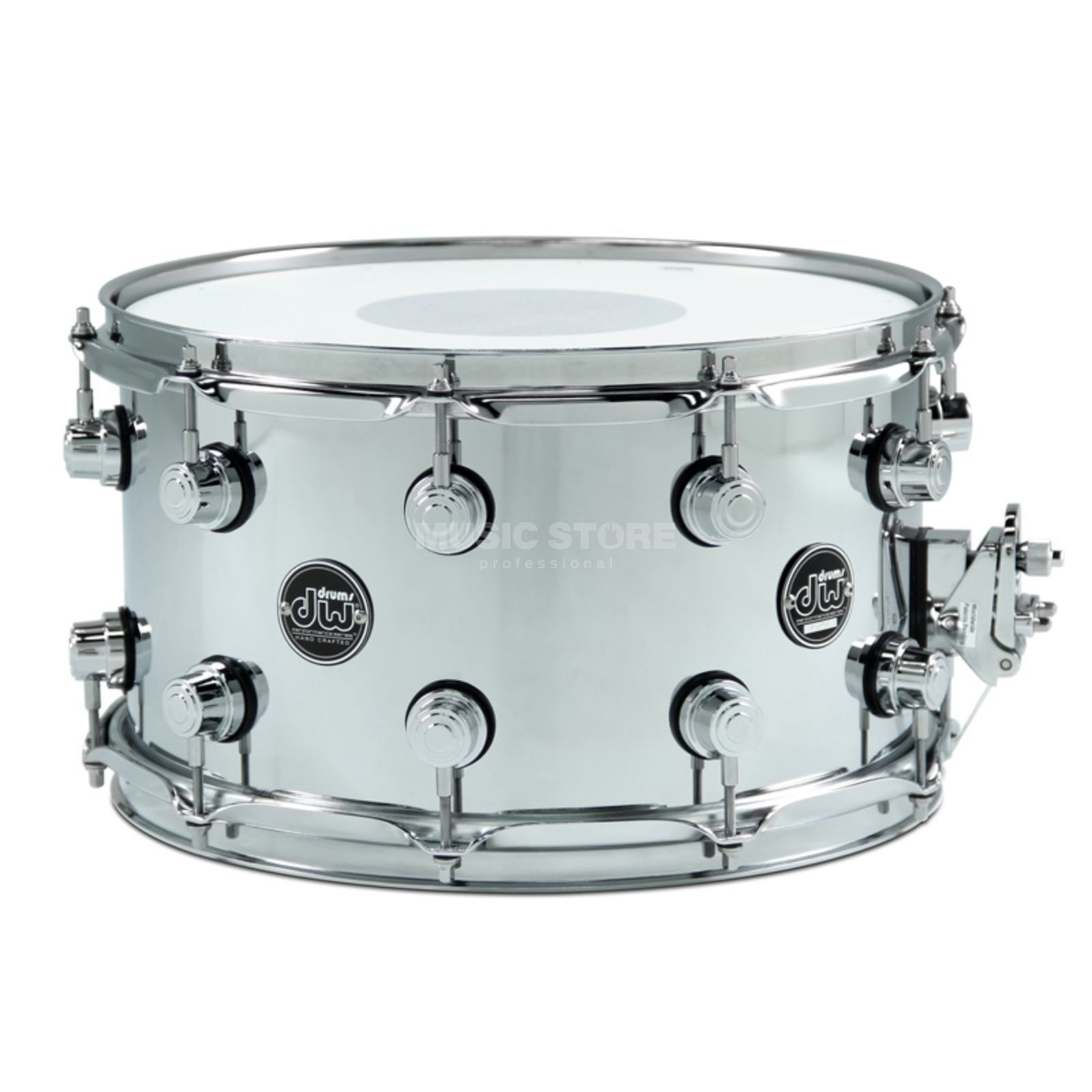 "Drum Workshop Performance Snare Stahl, 14""x6,5"" Produktbild"