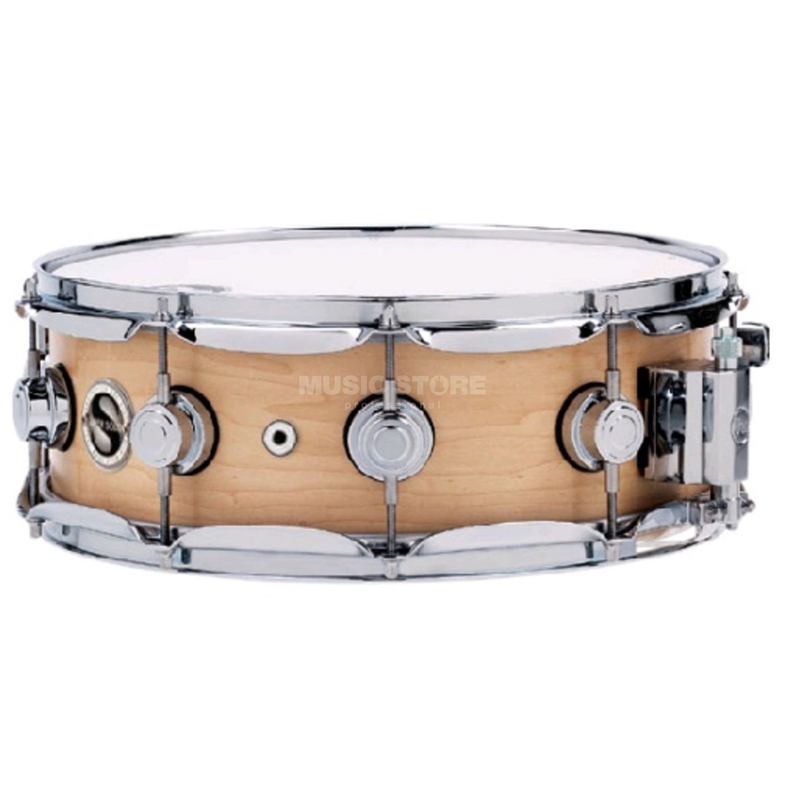 "Drum Workshop Super Solid Satin Oil Snare 14""x5,5"", Natural Produktbillede"