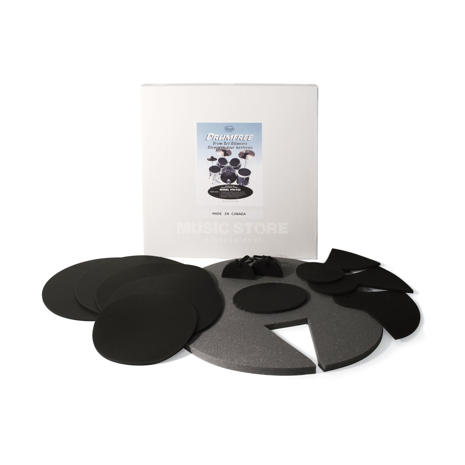 Drumfree Silencer DrumPad Set Fusion 22/10/12/2x14/HH/2xCYM Product Image