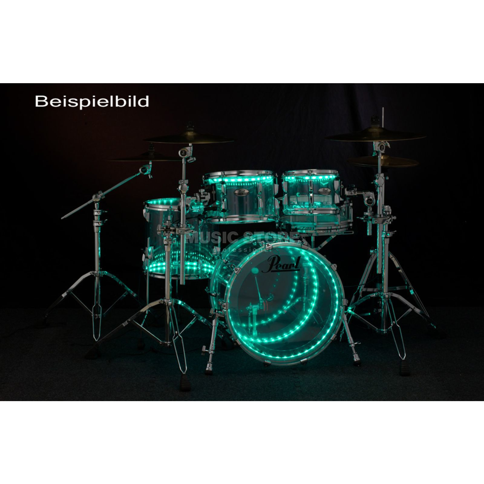 "Drumlite DL-K1D Full Kit, für Acryl-Set 22"", 16"", 14"", 12"" Produktbild"