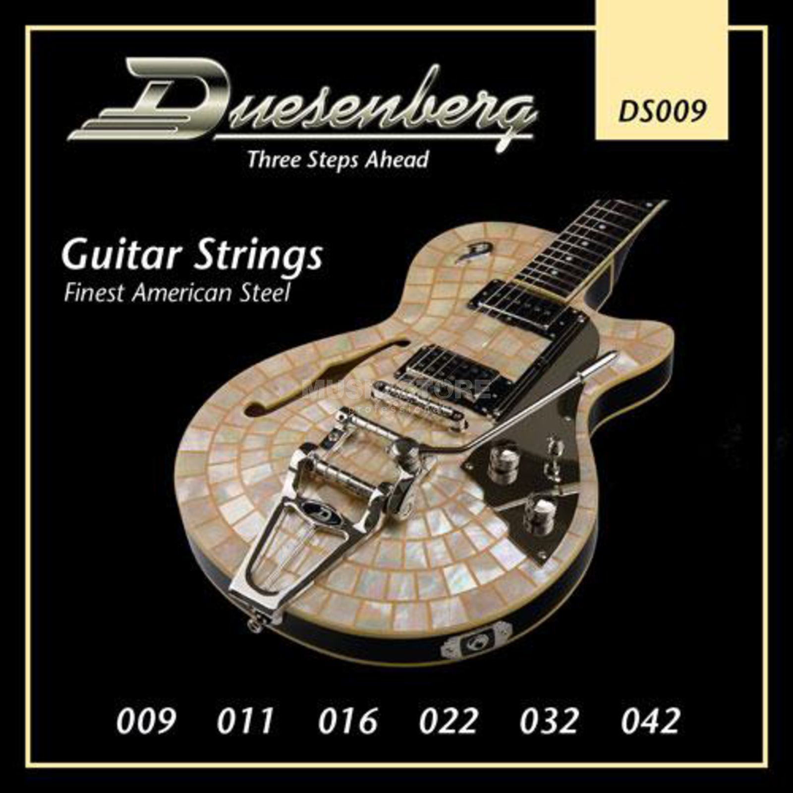 Duesenberg DS009 09-42 Guitar Strings Nickel Wound Produktbillede