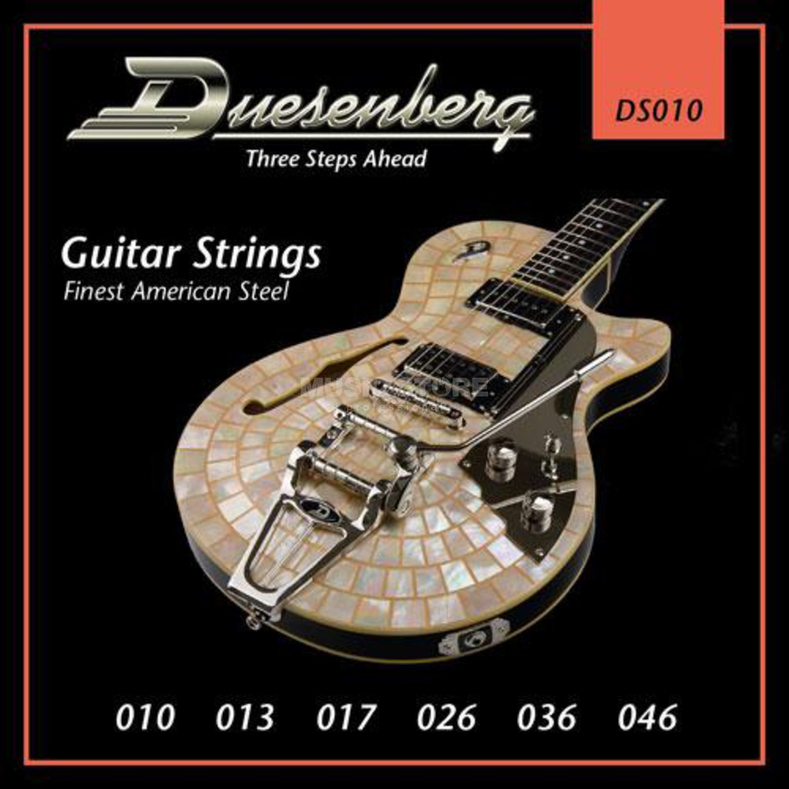 Duesenberg DS010 10-46 Guitar Strings Nickel Wound Produktbillede