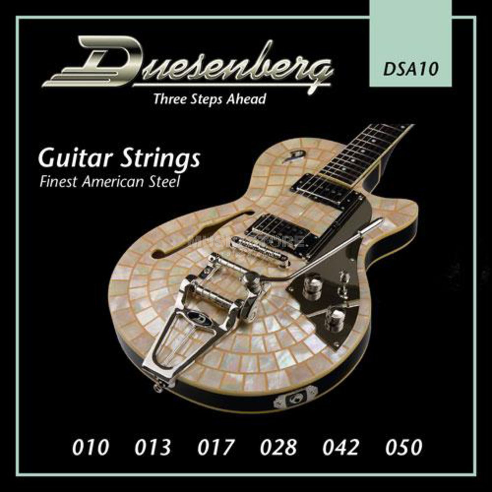 Duesenberg DSA10 10-50 Guitar Strings Nickel Wound Produktbillede