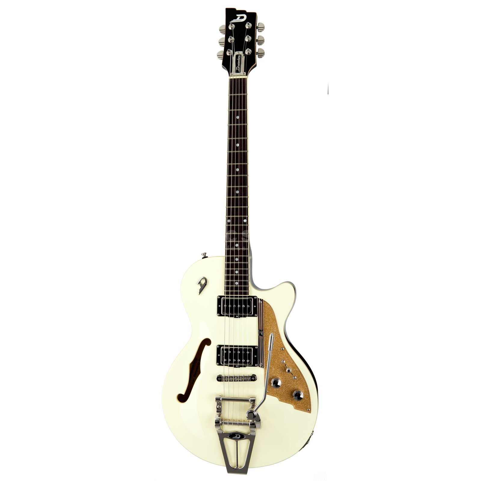 Duesenberg Starplayer TV VW Vintage White mit Koffer Produktbild