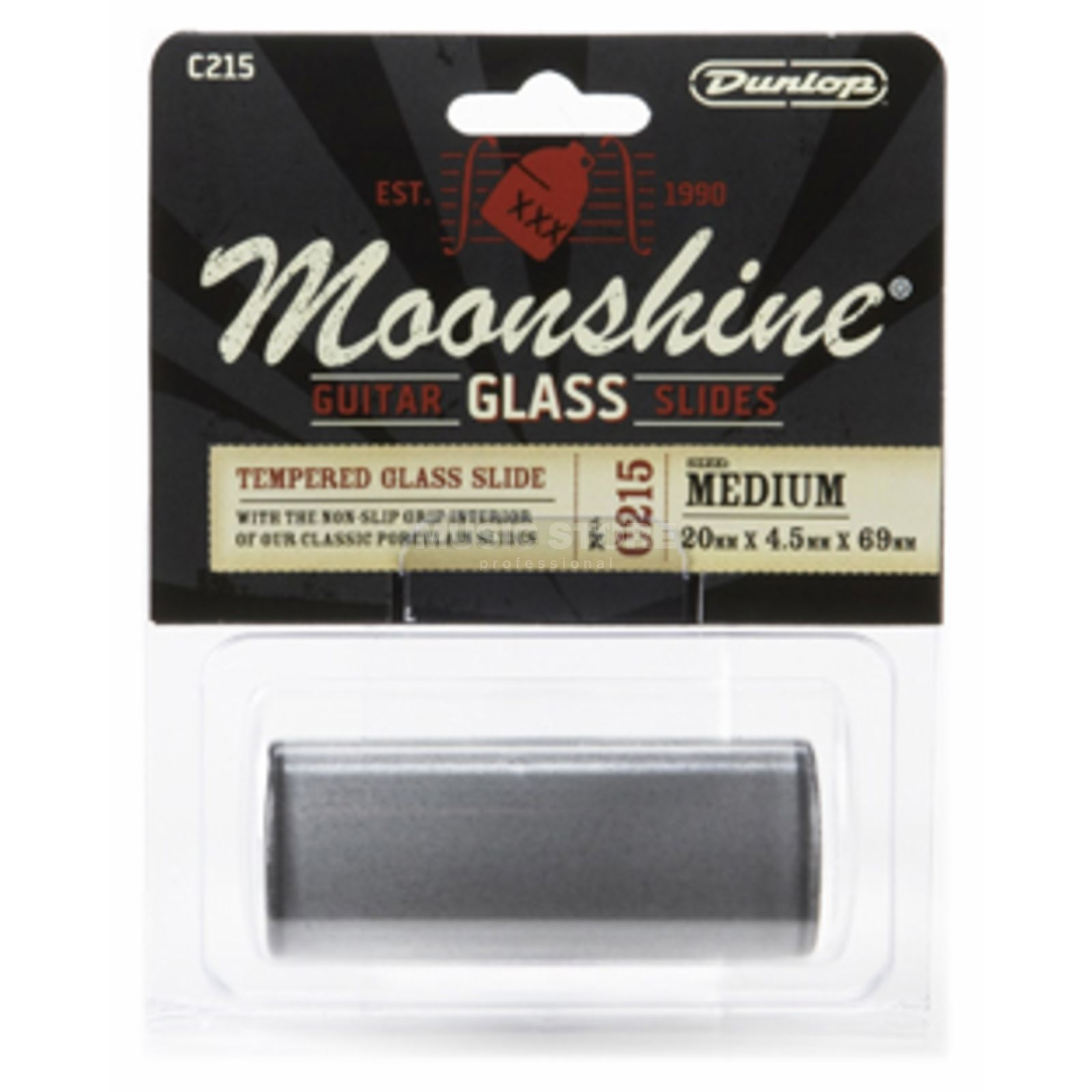 Dunlop C215 Moonshine Glass Slide medium Produktbillede