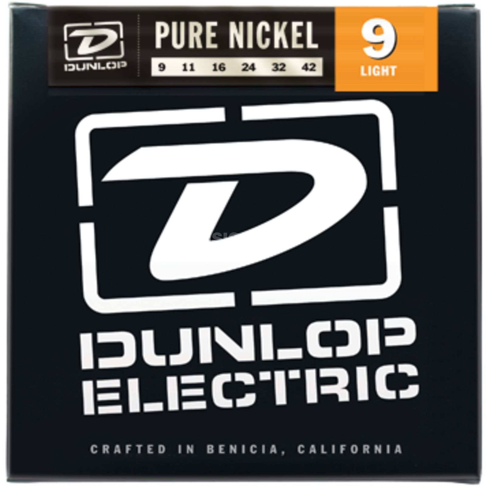 Dunlop E-Guitar Strings DEK 09-42 Pure Nickel Produktbillede