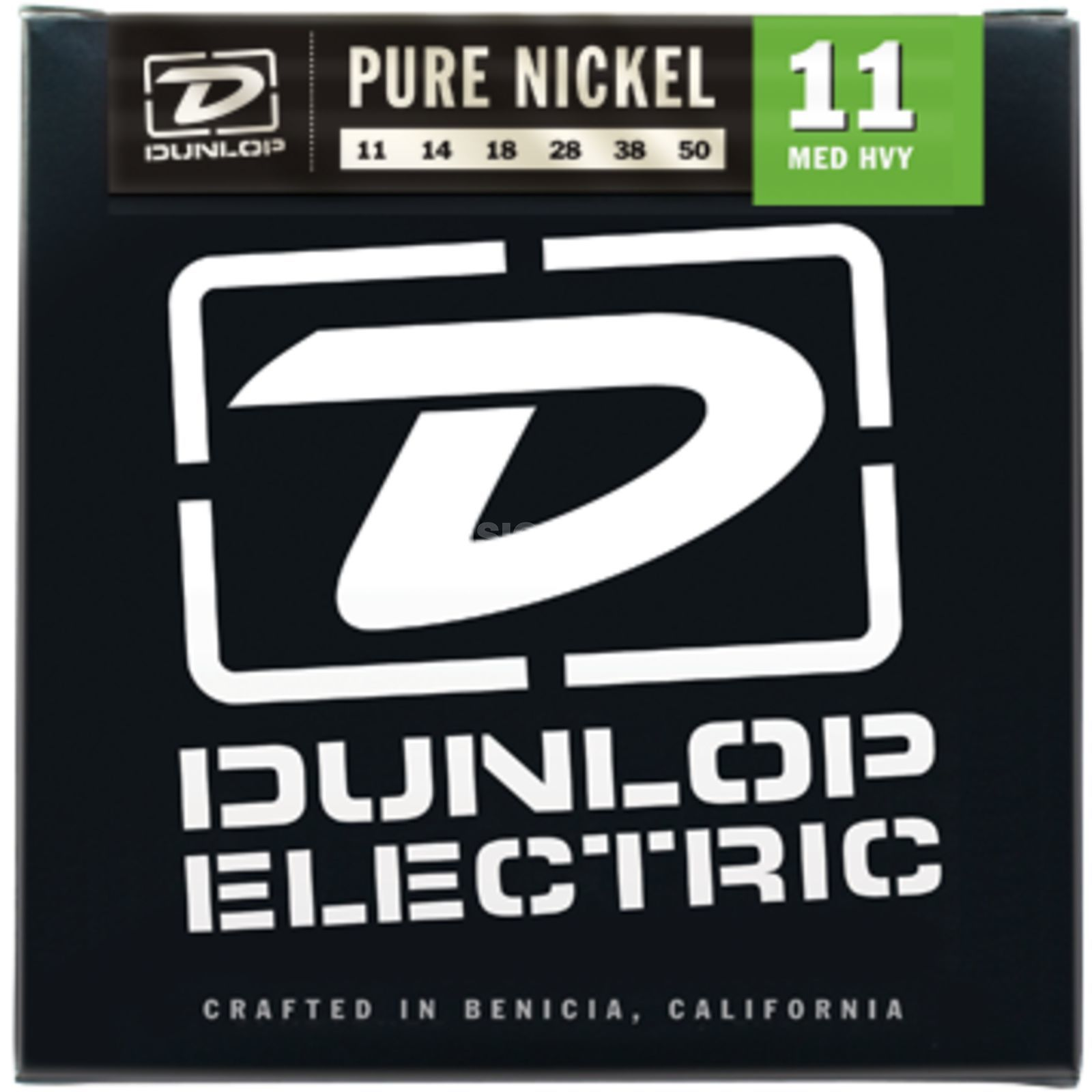 Dunlop E-Guitar Strings DEK 11-50 Pure Nickel Produktbillede
