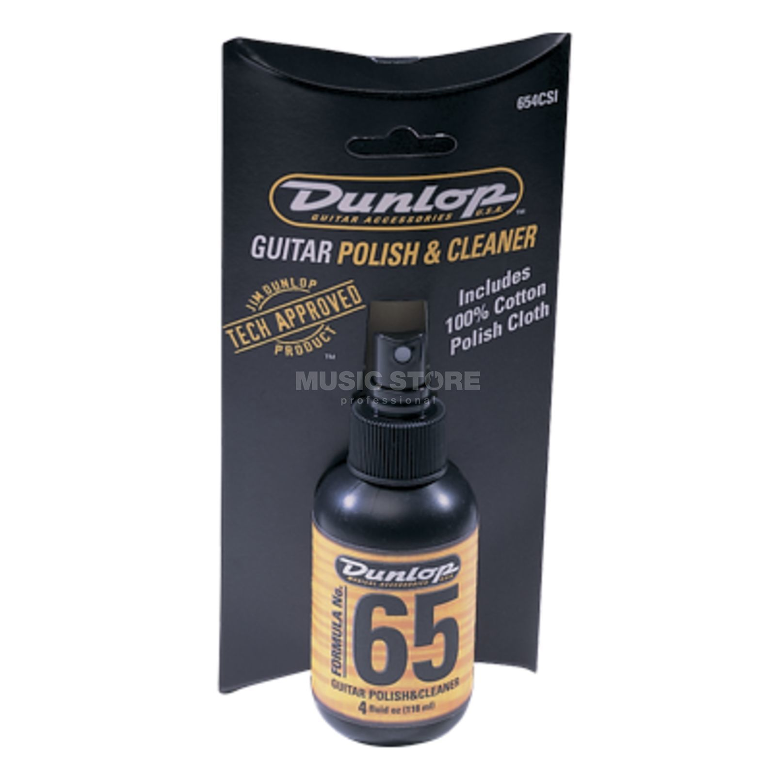 Dunlop Formula 65, Polish & Cleaner Polish Cloth, 654C Produktbillede