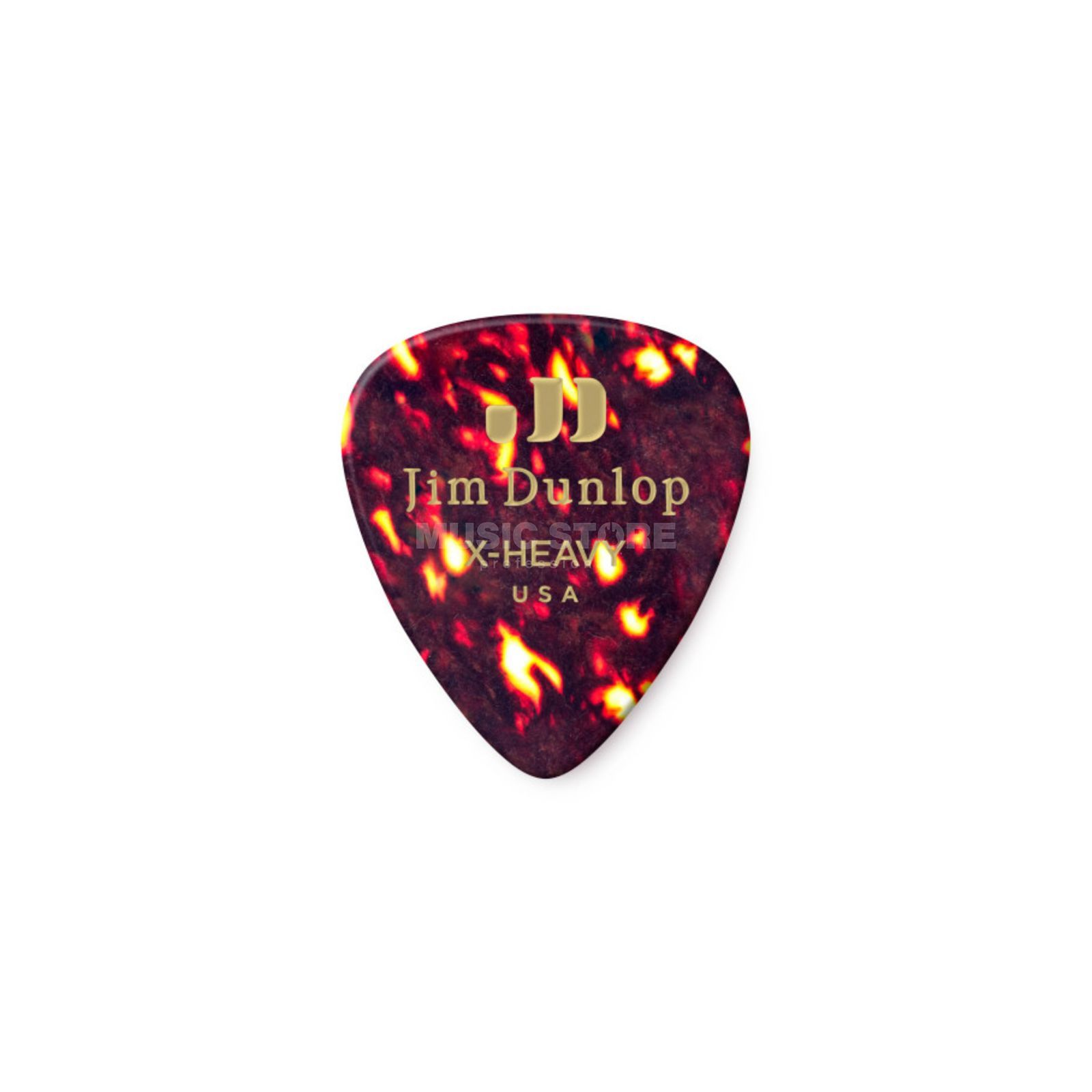 Dunlop Genuine Plectrum extra heavy Shell 483, 12 Picks Produktbillede