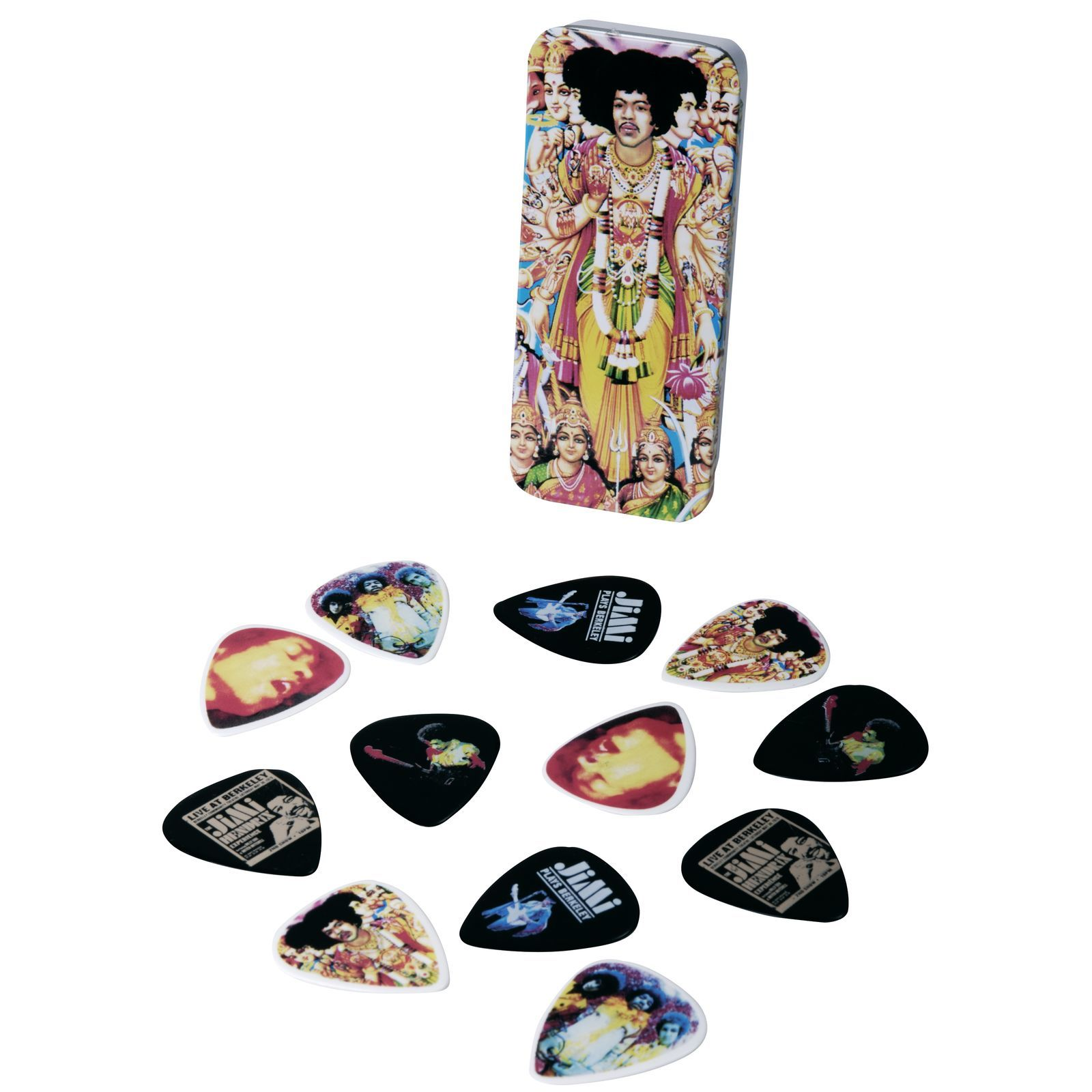 Dunlop Jimi Hendrix Picks - Bold As Love medium, 12er-Box Produktbild