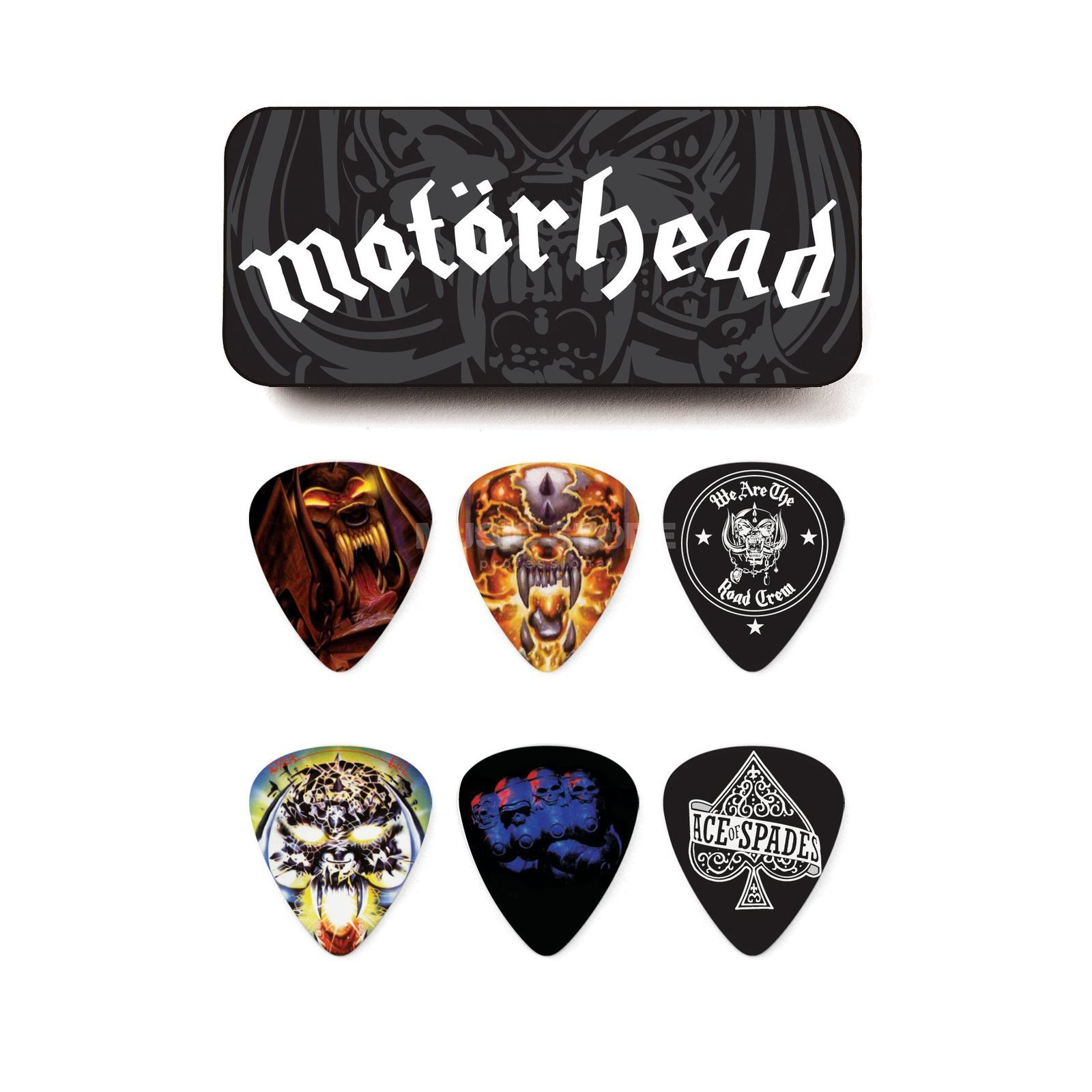 Dunlop Motörhead Picks - Album Art 0,73 mm, 6er-Box Produktbild