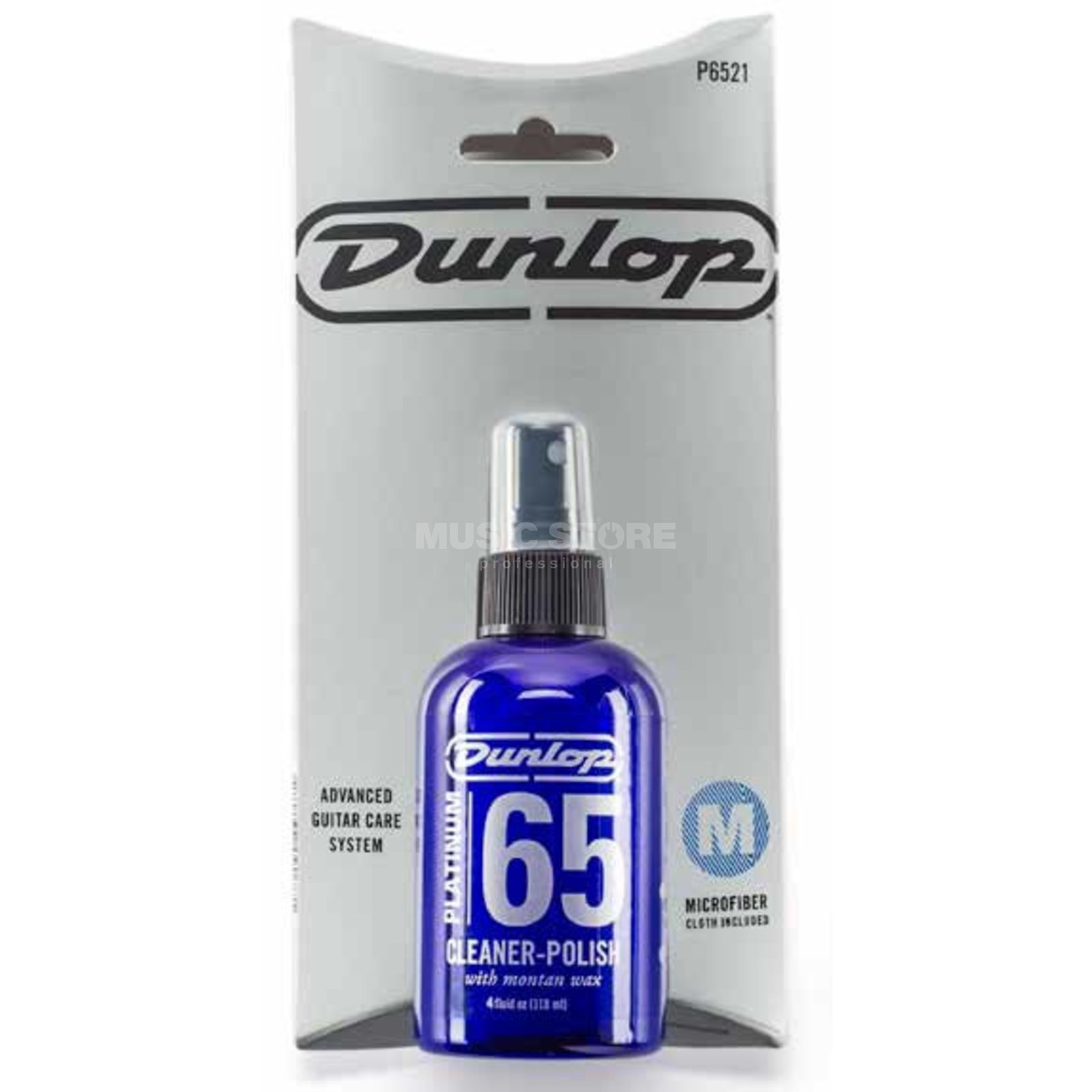 Dunlop Platinum 65 Cleaner-Polish mit Tuch, P65 21 Product Image