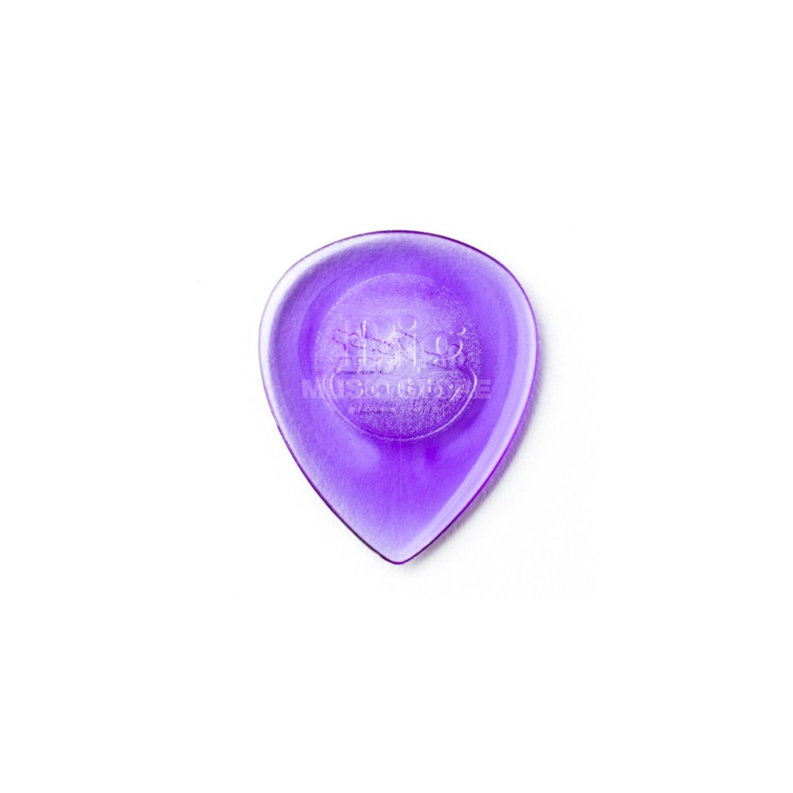 Dunlop Plektrum Big Stubby 2,00 6er-Set Bright Purple Produktbild