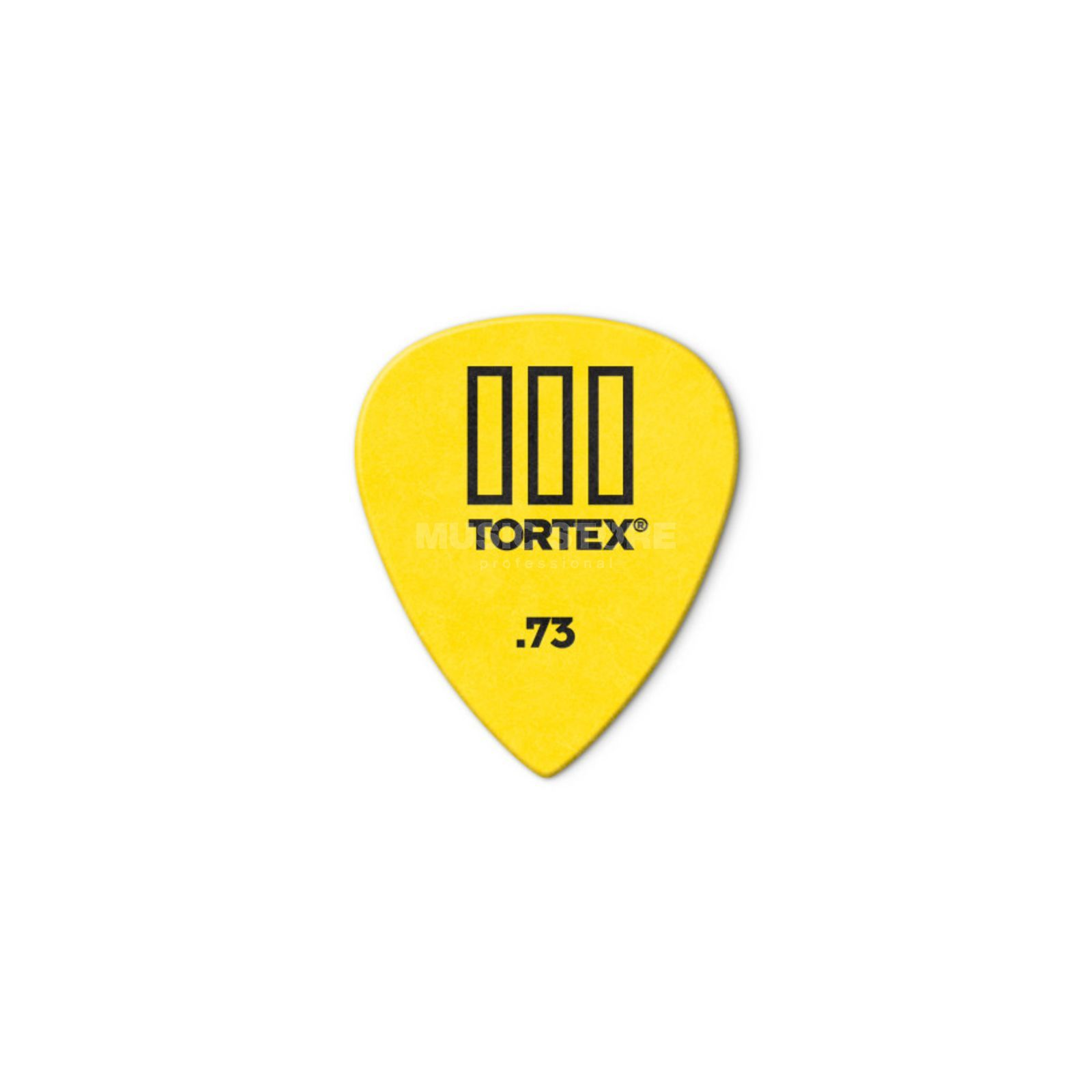 Dunlop Tortex III 462 Picks 0,73 12-Pack, yellow Produktbillede