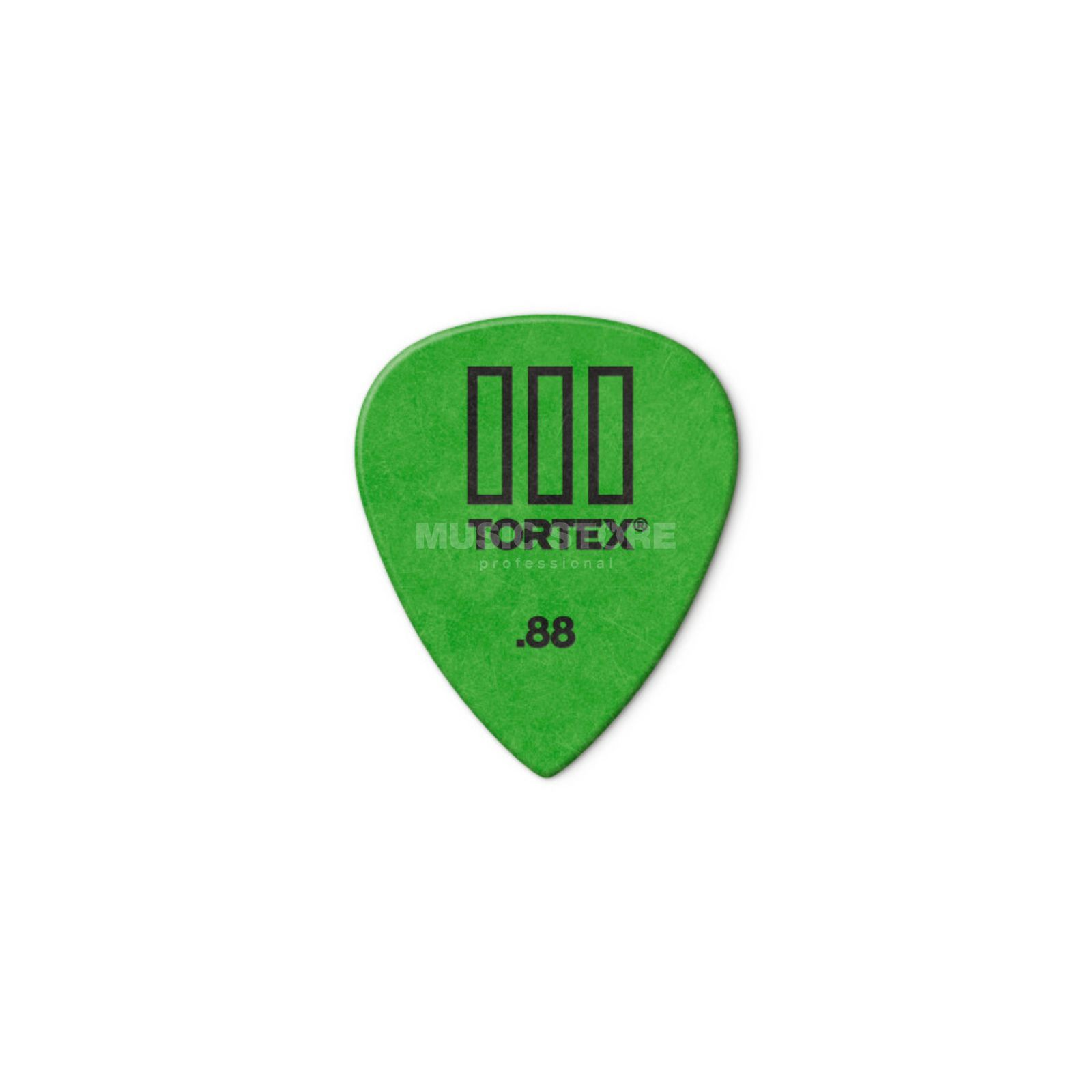 Dunlop Tortex III 462 Picks 0,88 12-Pack, green Produktbillede