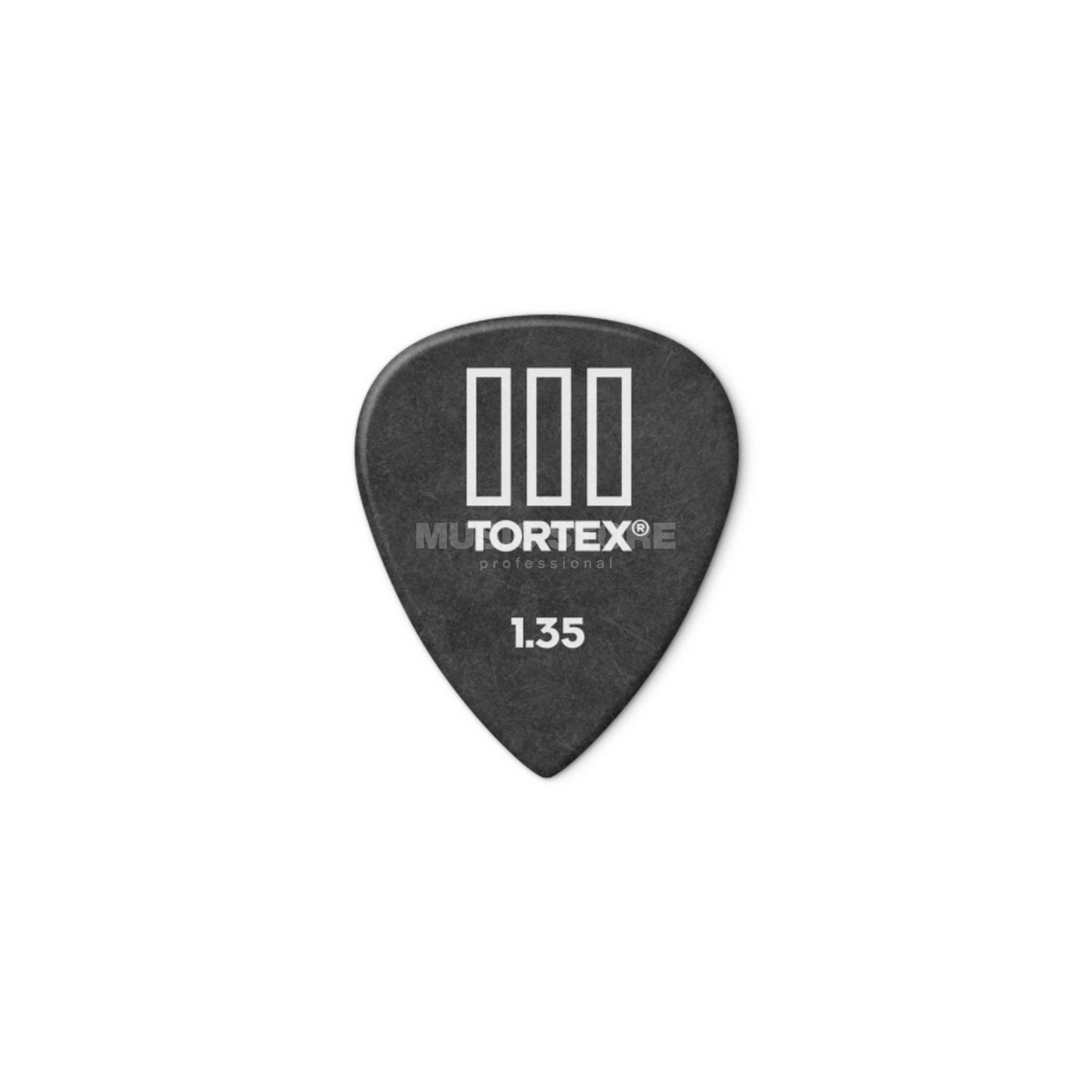 Dunlop Tortex III 462 Picks 1,35 12-Pack, black Produktbillede