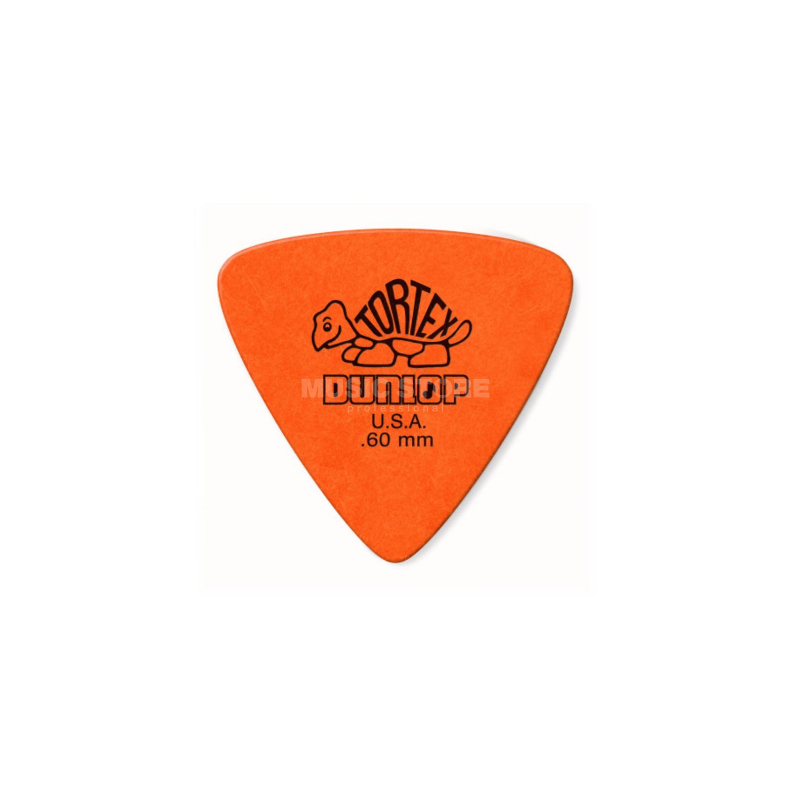 Dunlop Tortex Triangle Plektren 0,60 6er Set, orange Produktbild