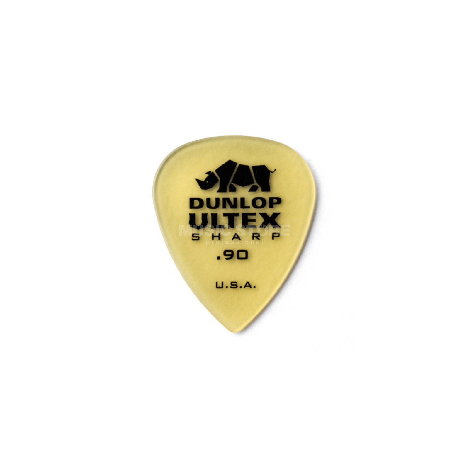 Dunlop Ultex Sharp Player's Pleks 0,90 mm, elfenbein, 6er-Set Produktbild