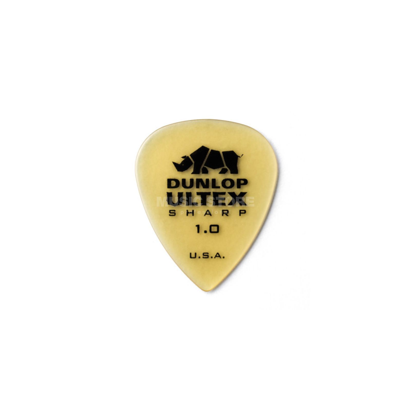 Dunlop Ultex Sharp Player's Pleks 1,00 mm, elfenbein, 6er-Set Produktbild