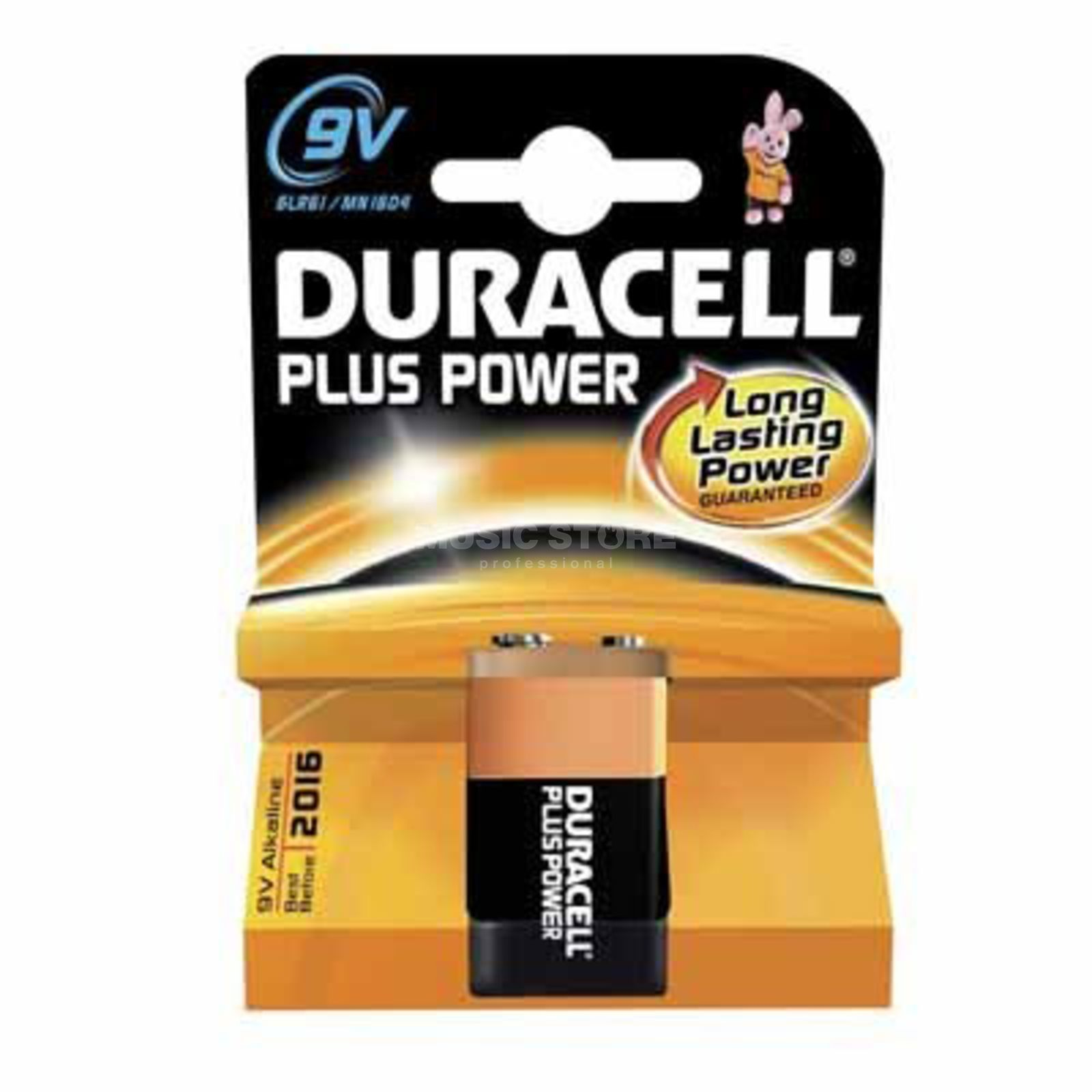 Duracell 9V Block Plus Power Duralock  Produktbild