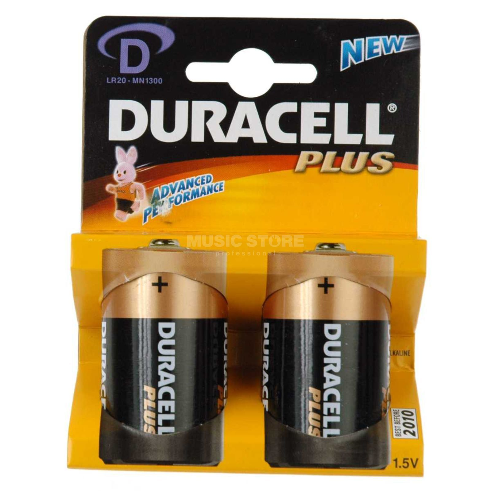 Duracell Plus Power MN1300 1,5V Mono 2-Pack Produktbillede