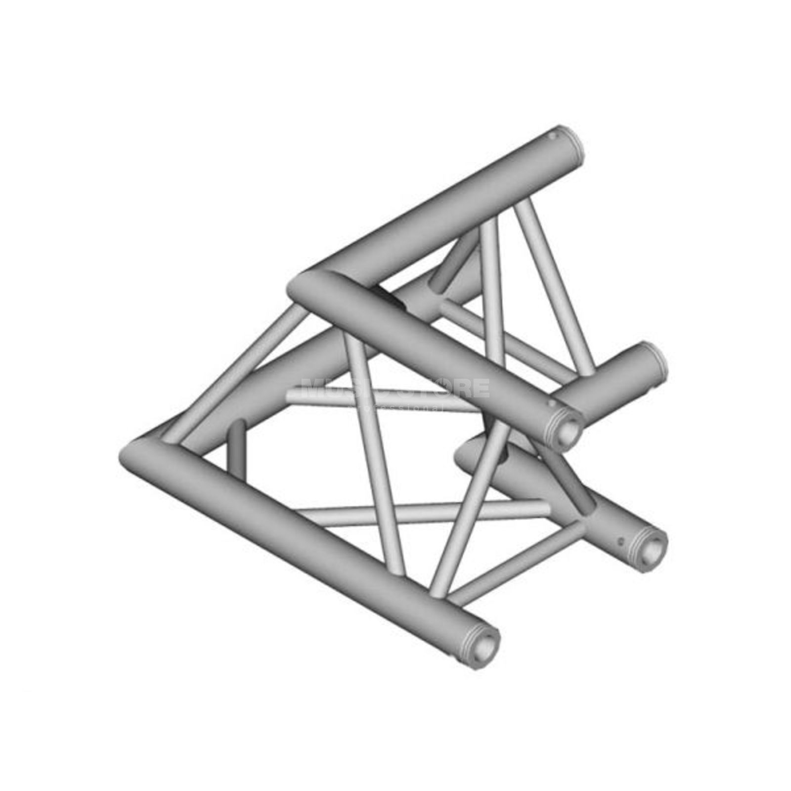 DURATRUSS DT 33-C21-L90, 3-Point Truss 90° Corner, 2-Way Produktbillede