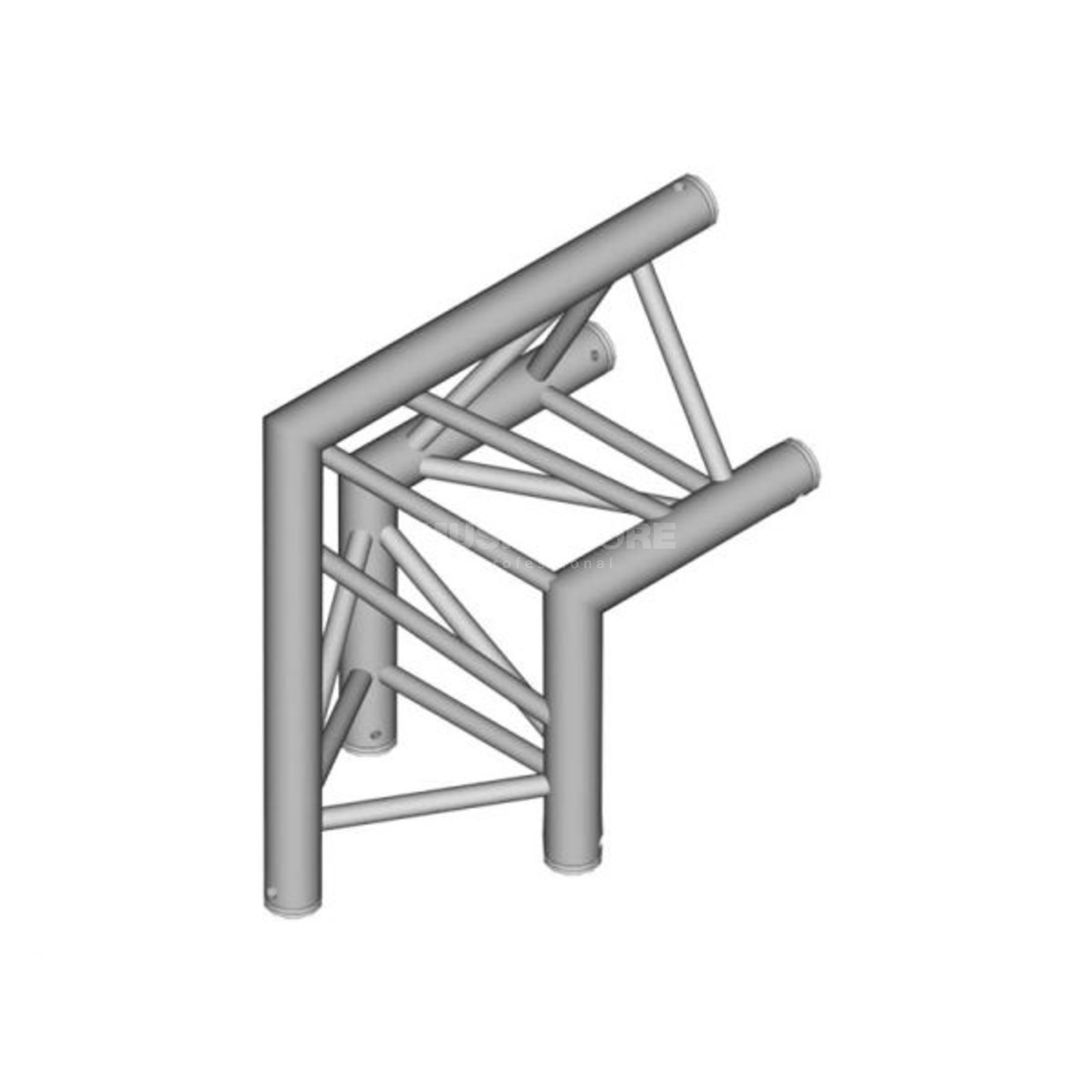 DURATRUSS DT 33-C24-D90 3-Point Truss 90° Corner Produktbillede