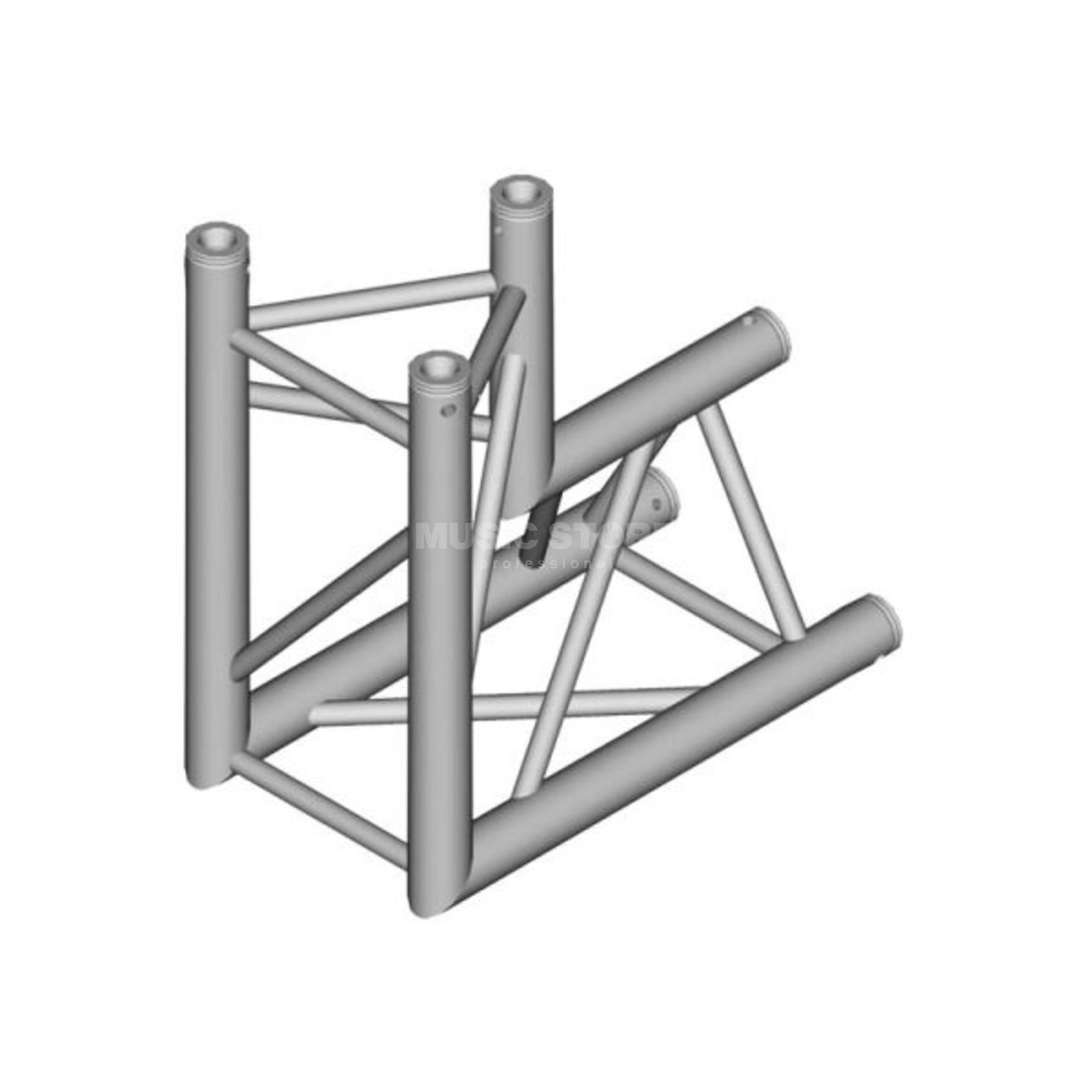 DURATRUSS DT 33-C25-D90 3-Point Truss 90° Corner Produktbillede