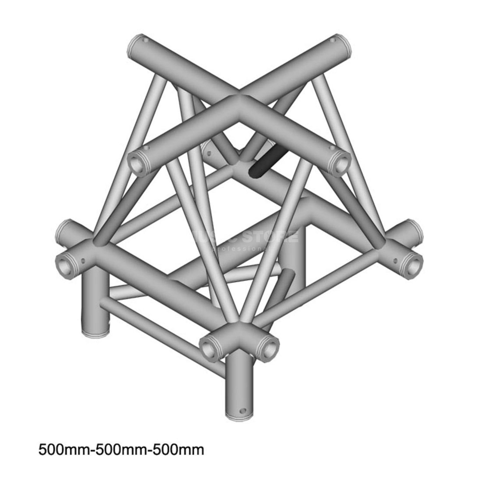 DURATRUSS DT 43 C52-XU, 3-Point Truss Cross + up Produktbillede