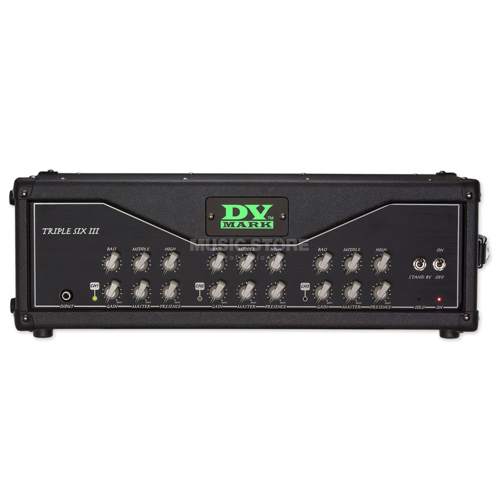 DV Mark Triple 6 III Head  Produktbillede
