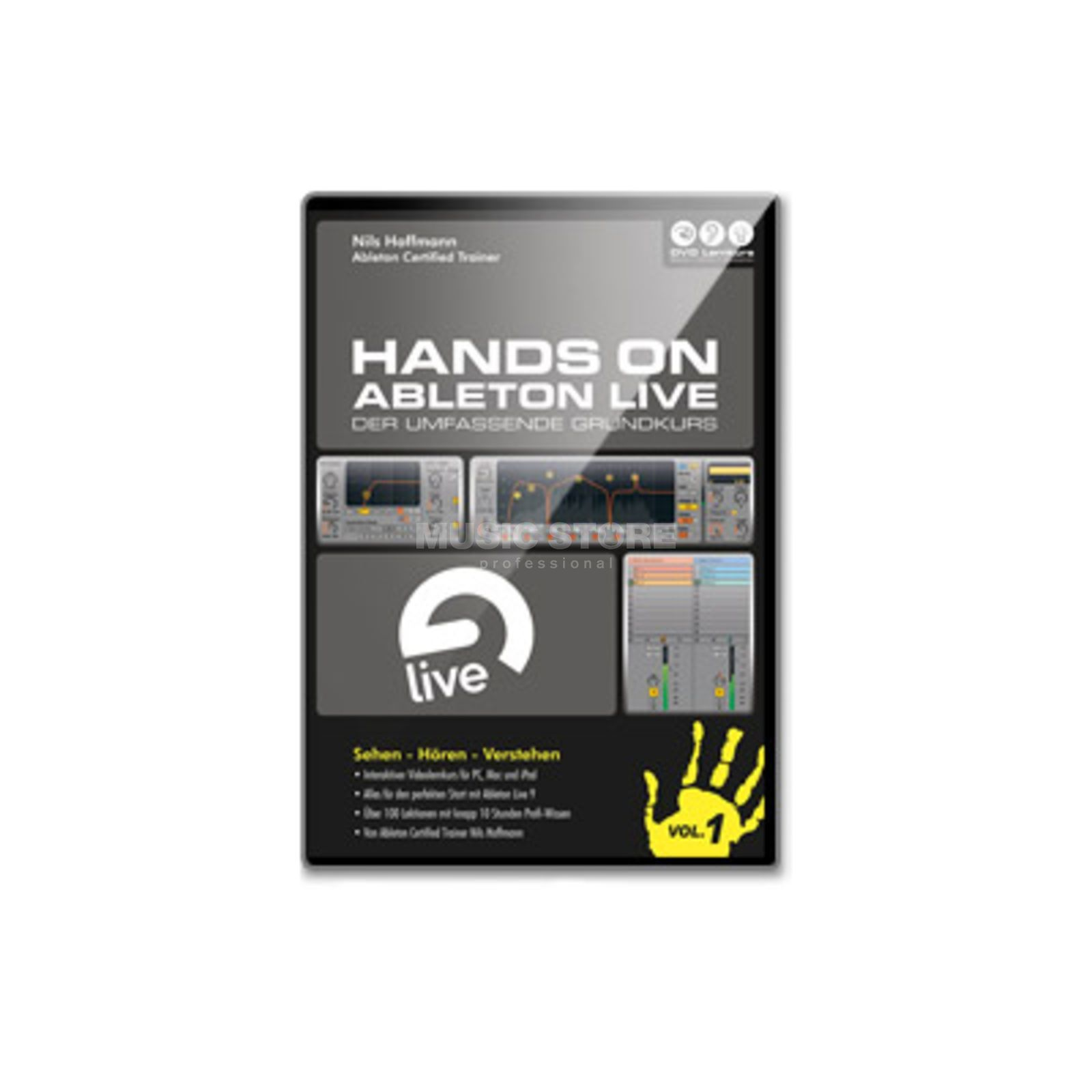 DVD Lernkurs Hands On Ableton Live Vol.1 Basics and Introduction Produktbillede