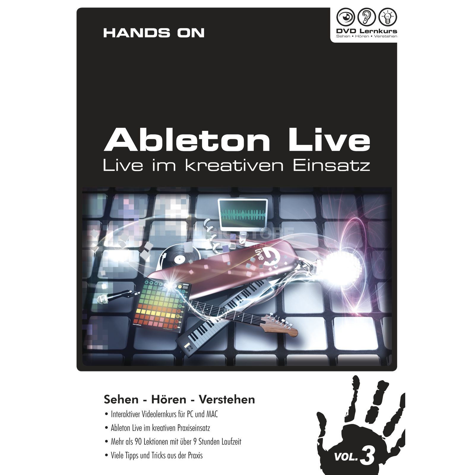 DVD Lernkurs Hands On Ableton Live Vol.3 Performing Live Produktbild