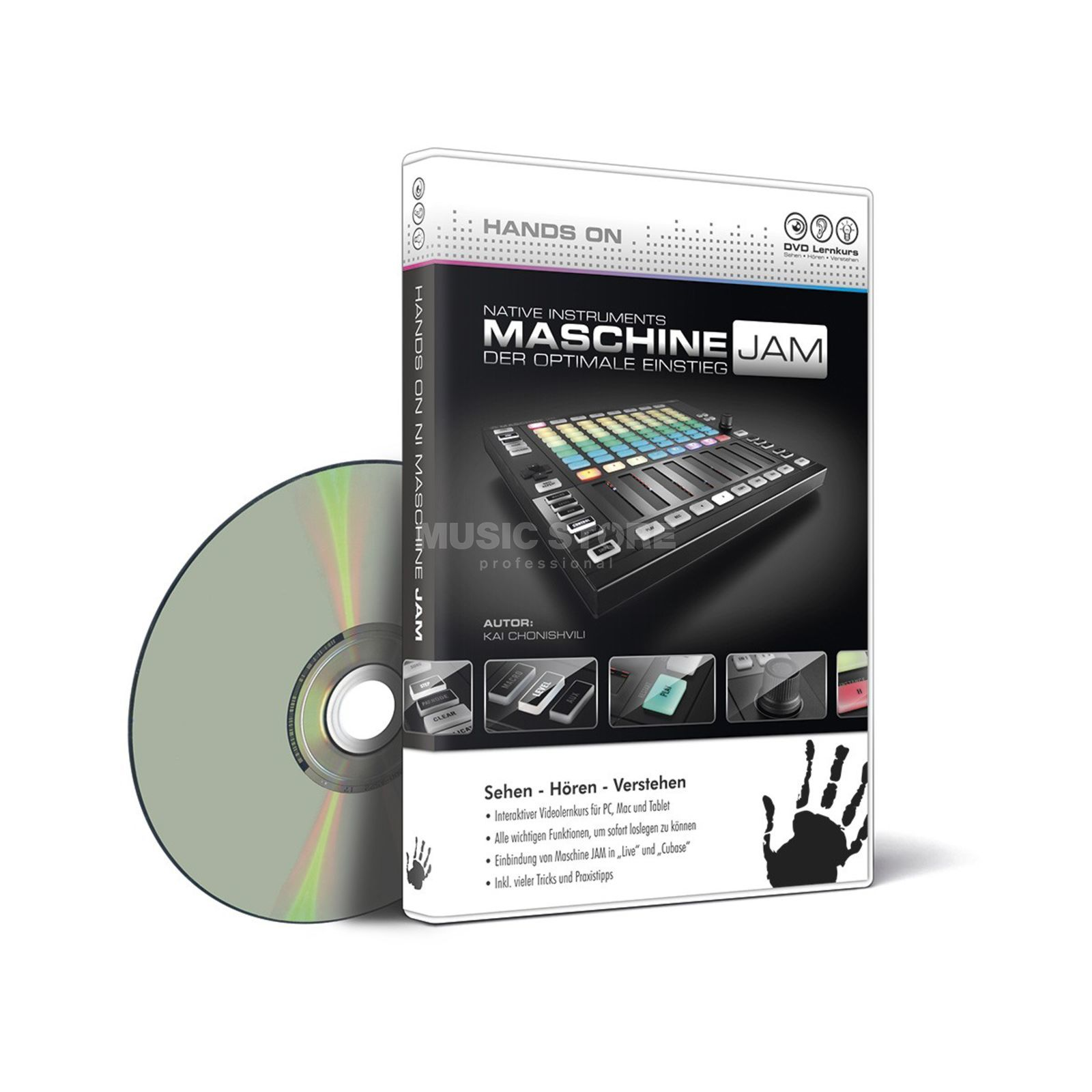 DVD Lernkurs Hands on Maschine JAM Product Image