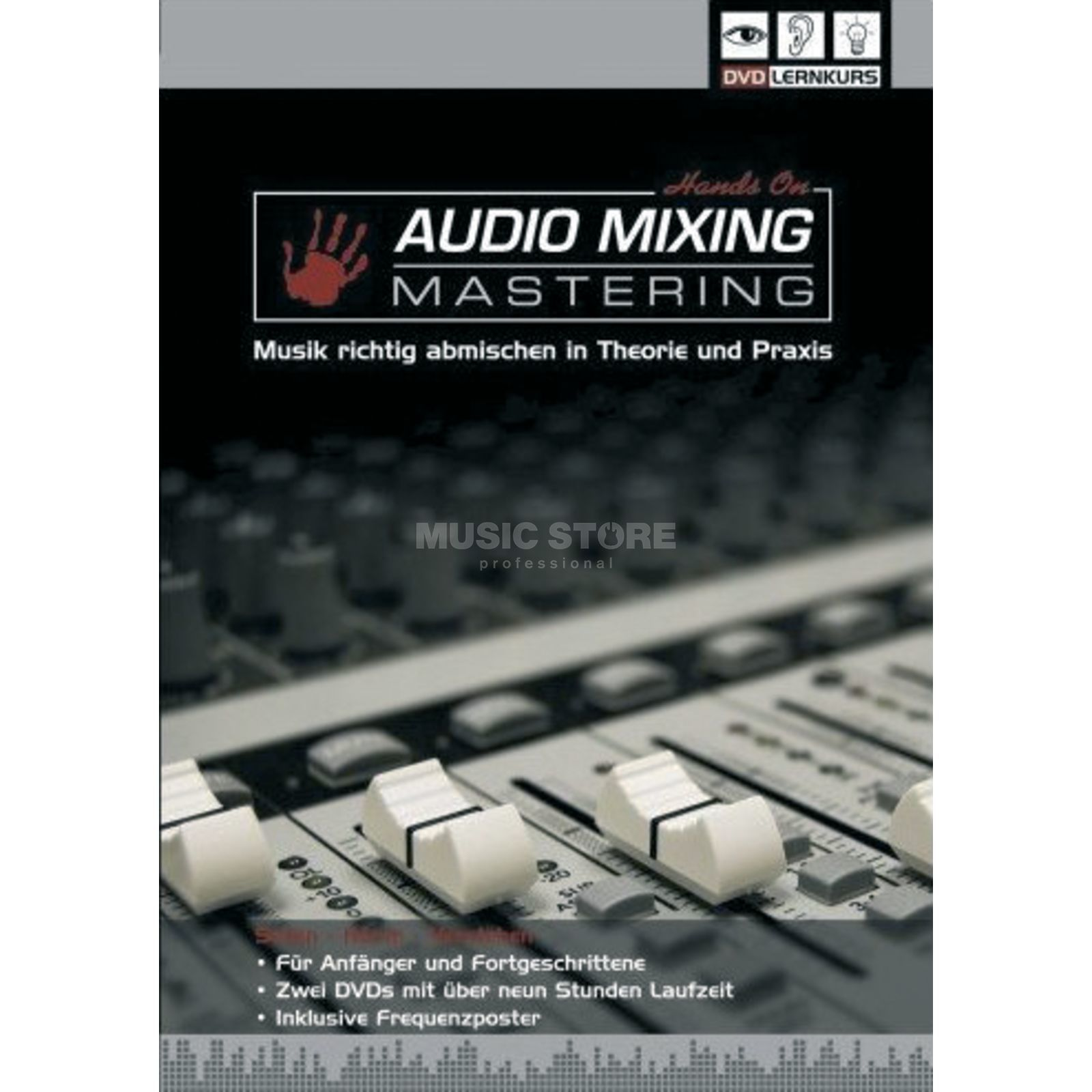 DVD Lernkurs Hands On Mixing & Mastering Basics of Mixing Produktbillede