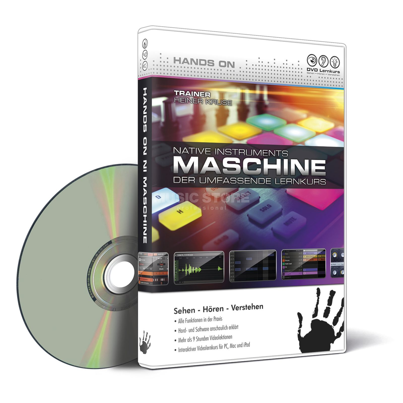 DVD Lernkurs Hands On NI Maschine DVD Lernkurs Produktbild